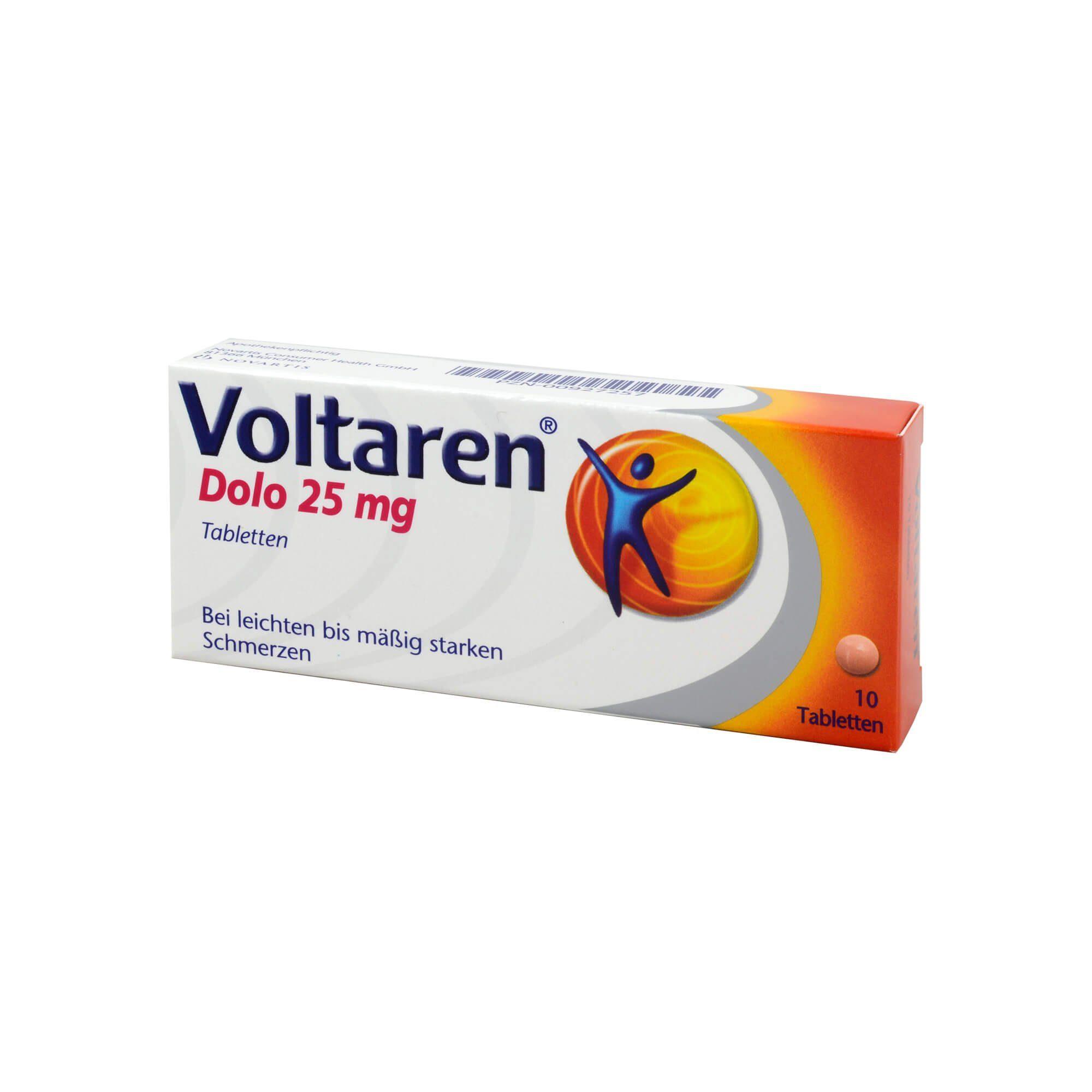 Voltaren Dolo 25 mg, 10 St