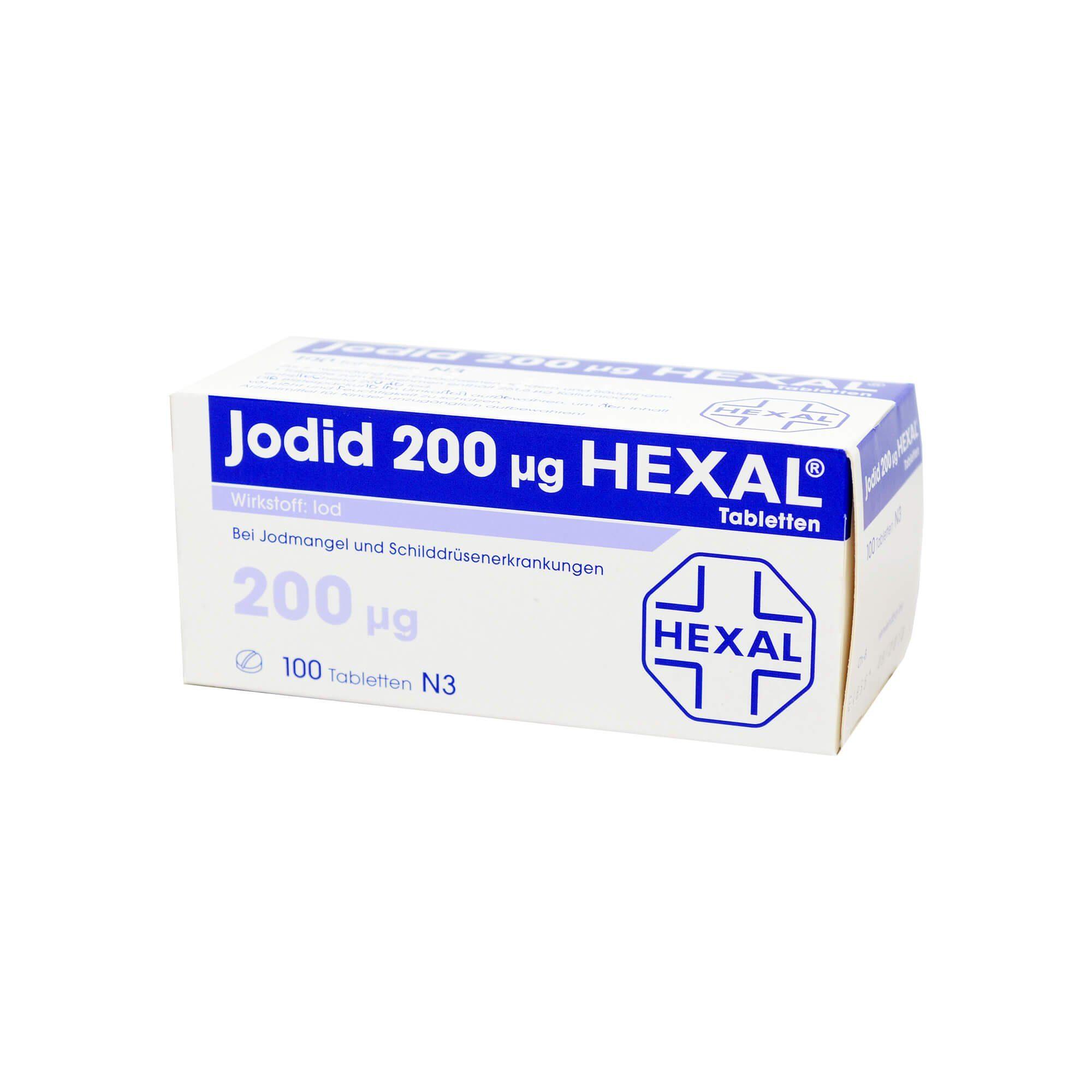 Jodid 200 Hexal , 100 St