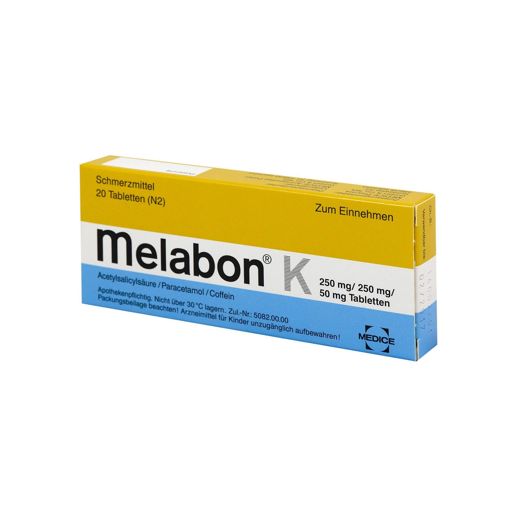 Melabon K Tabletten, 20 St