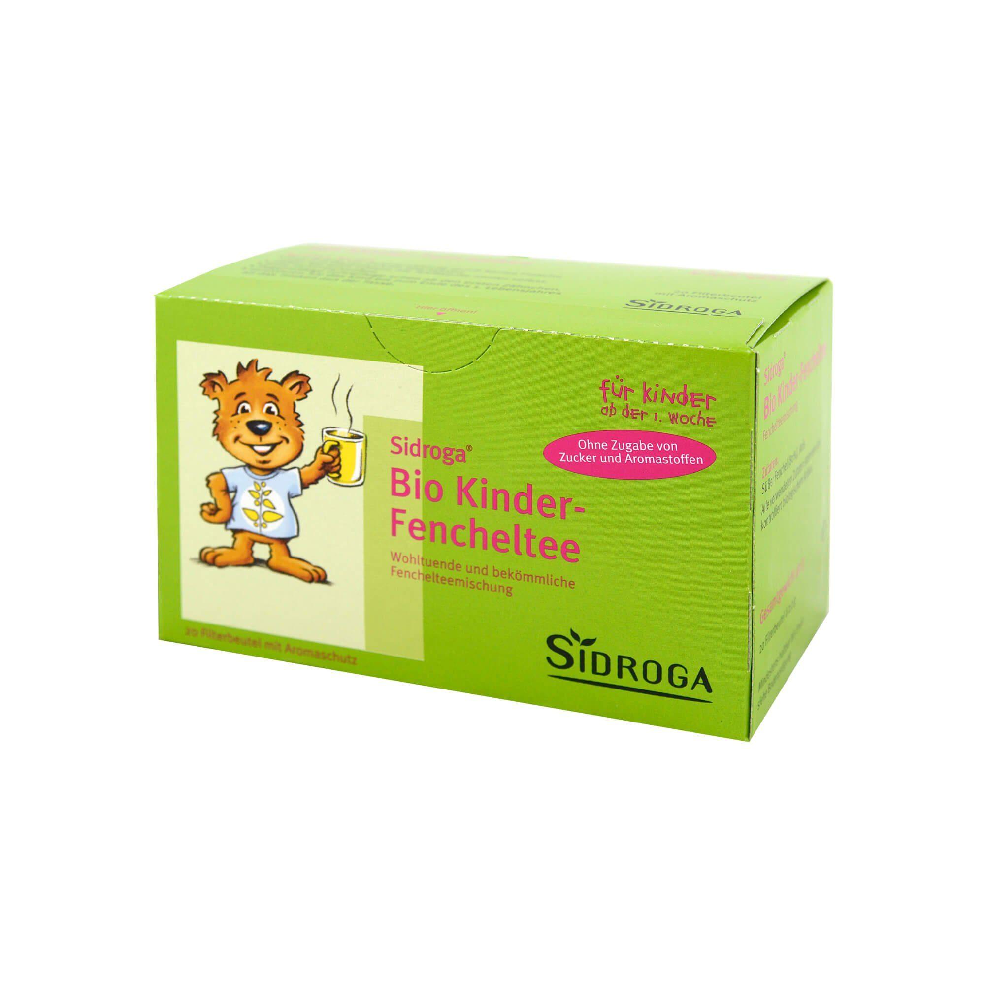 Sidroga Bio Kinder-Fencheltee Filterbeutel , 20 St