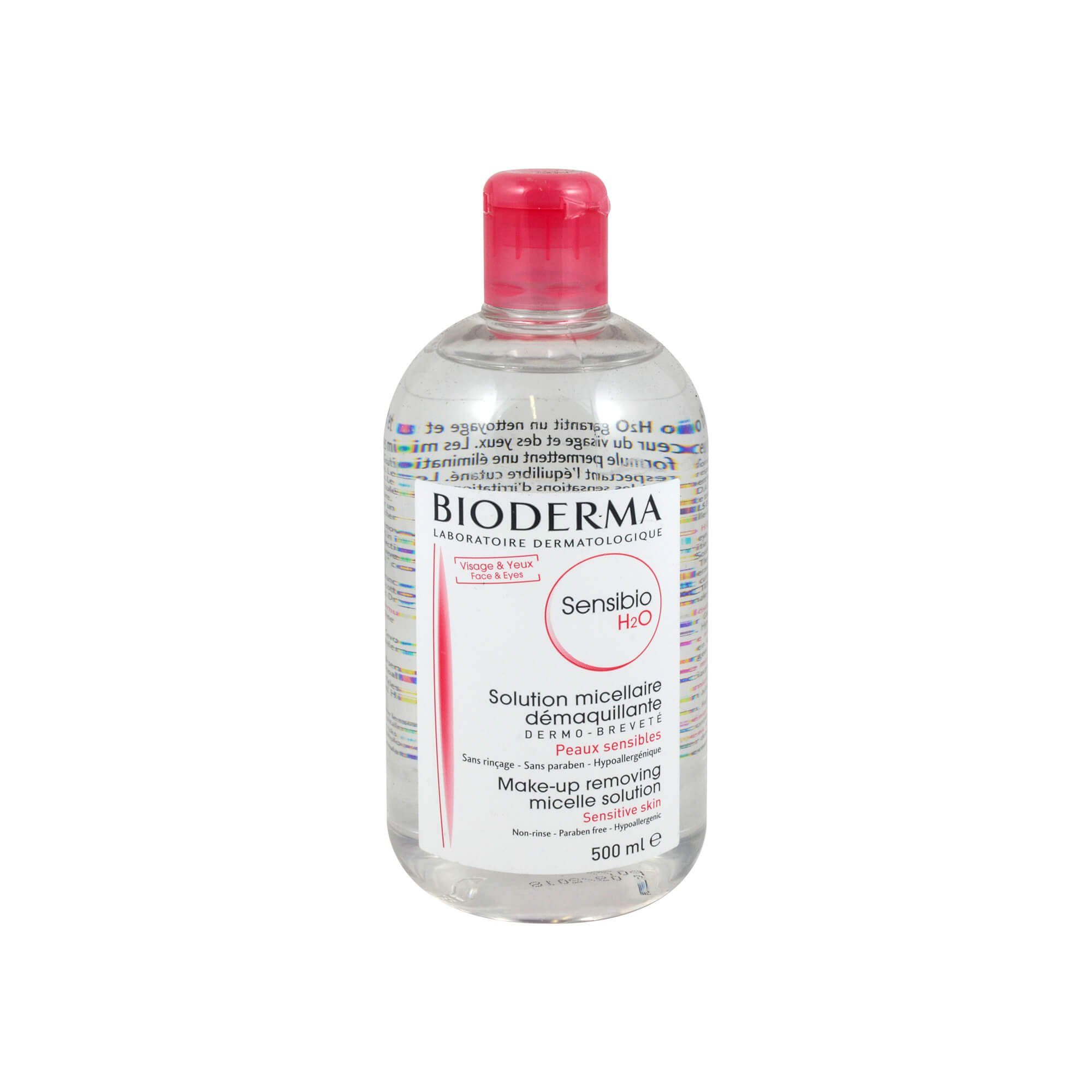 Bioderma Sensibio H2O reinigende Lösung, 500 ml