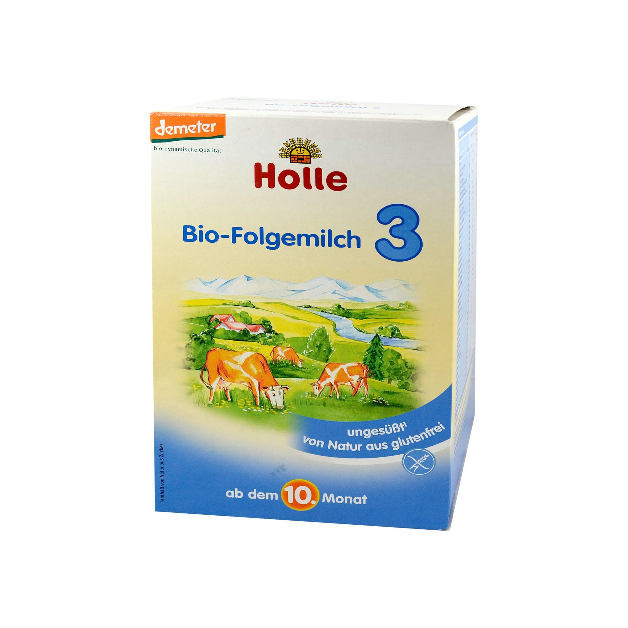 Holle Bio Säuglings Folgemilch 3, 600 g
