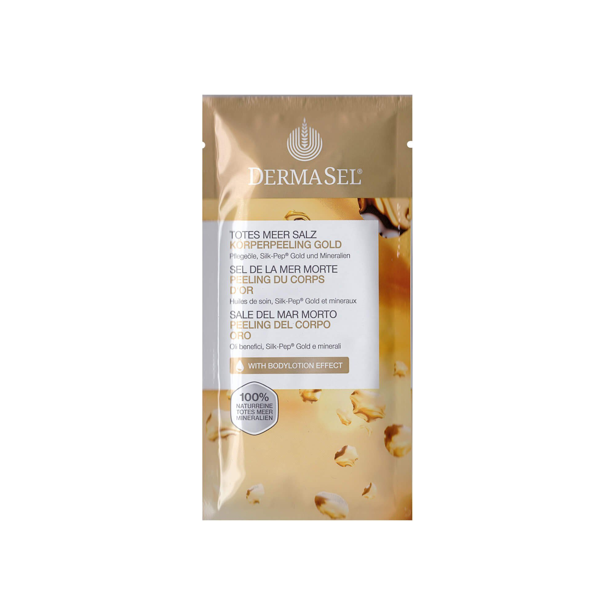 Dermasel Dermasel Körperpeeling Gold , 38 ml