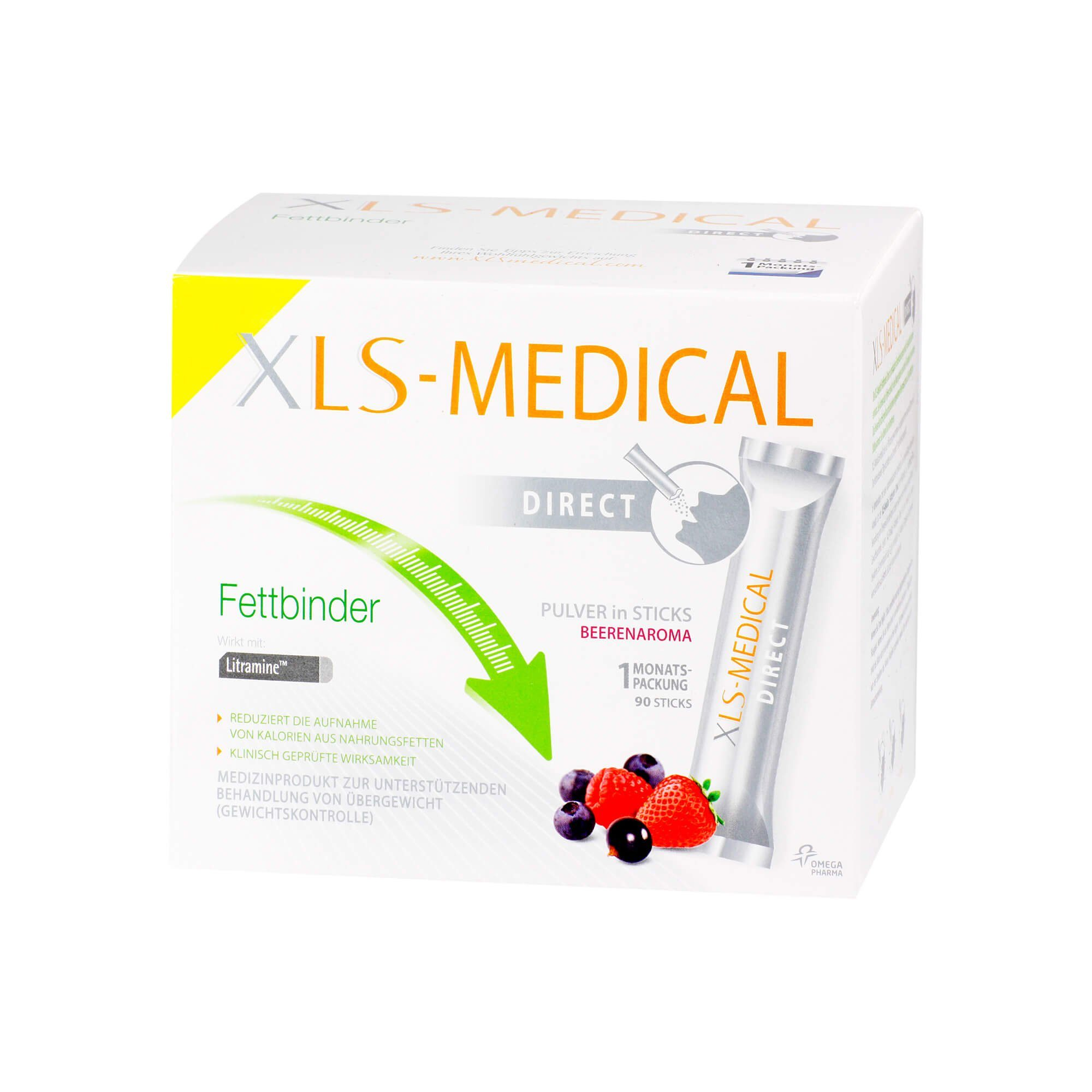 XLS-Medical Fettbinder Direct Sticks , 90 St