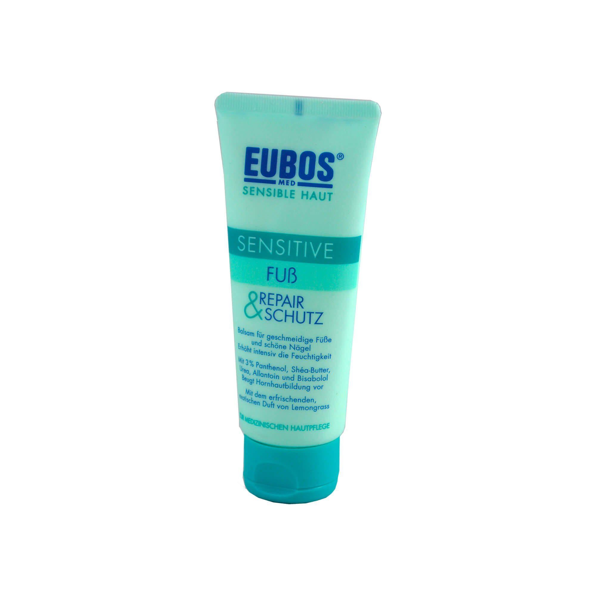 Eubos Sensitive Fuss Repair + Schutzcreme, 100 ml