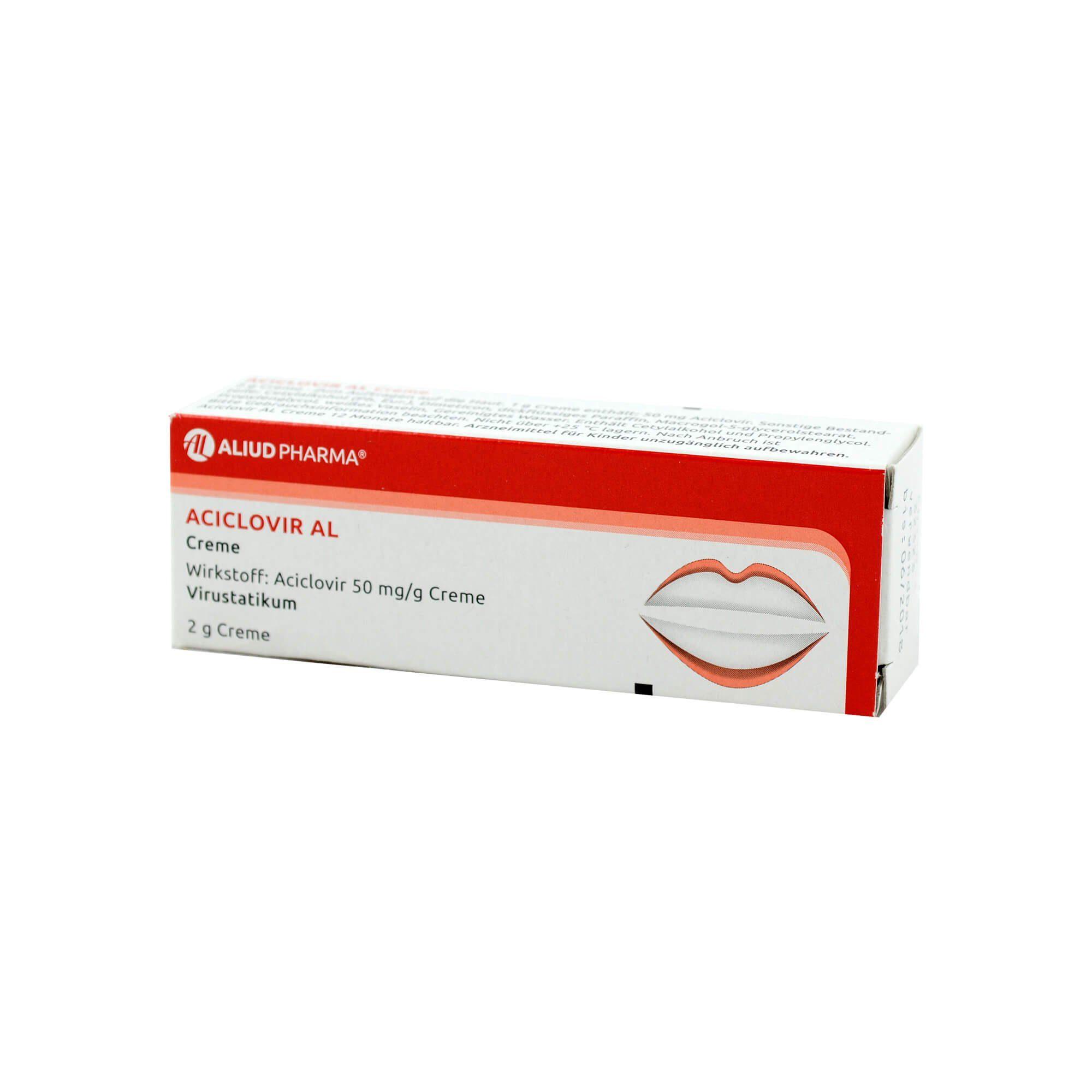 Aciclovir AL Creme , 2 g