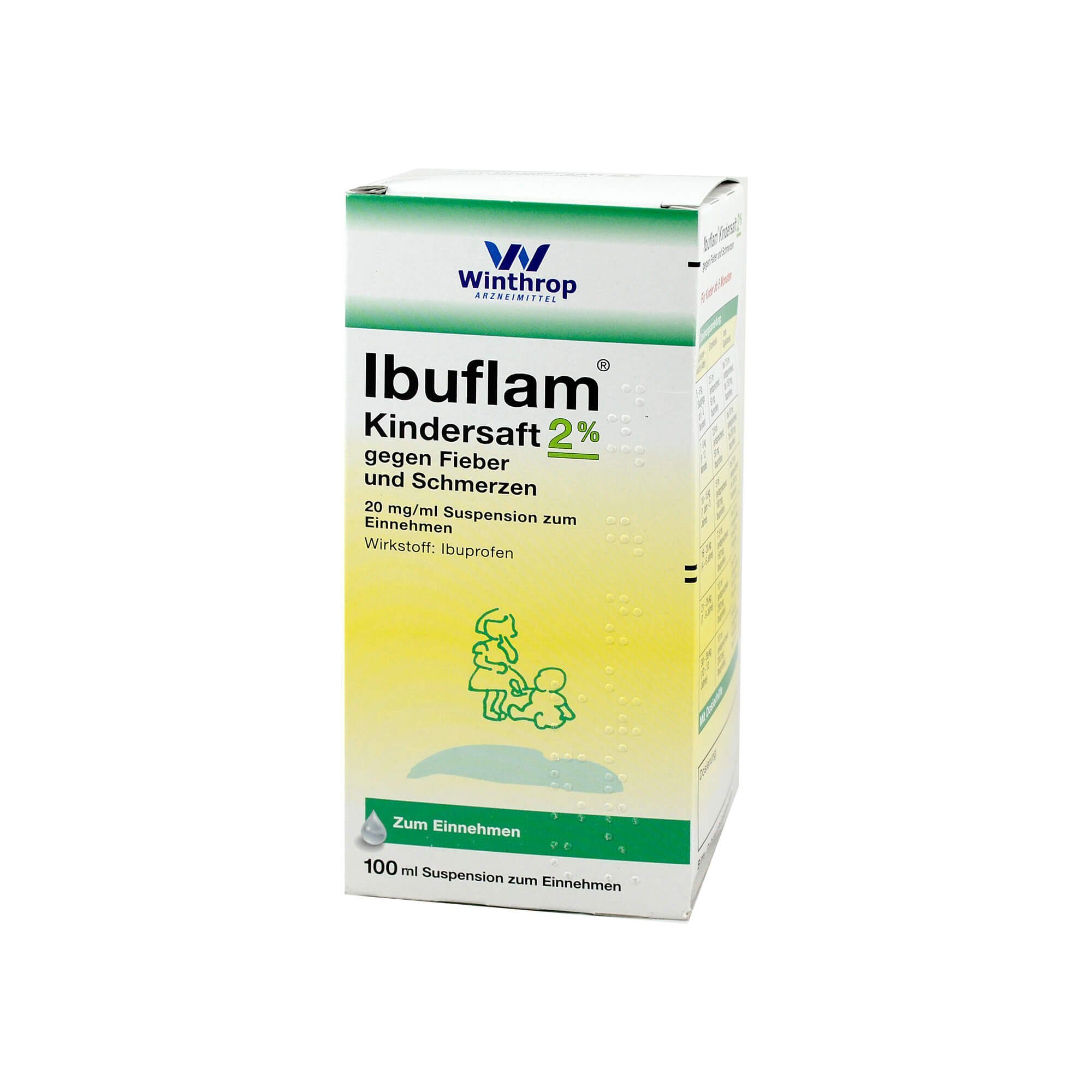 Ibuflam Kindersaft 2% , 100 ml