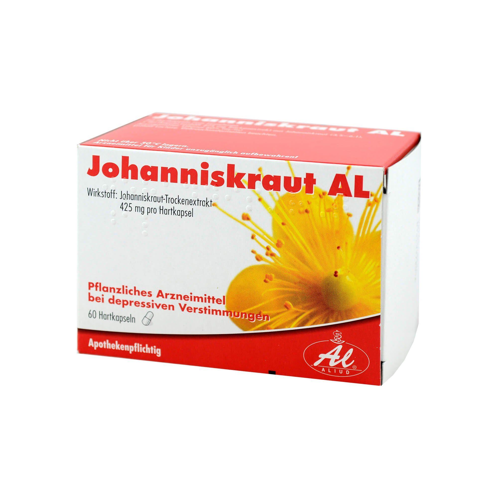 Johanniskraut AL Hartkapseln , 60 St