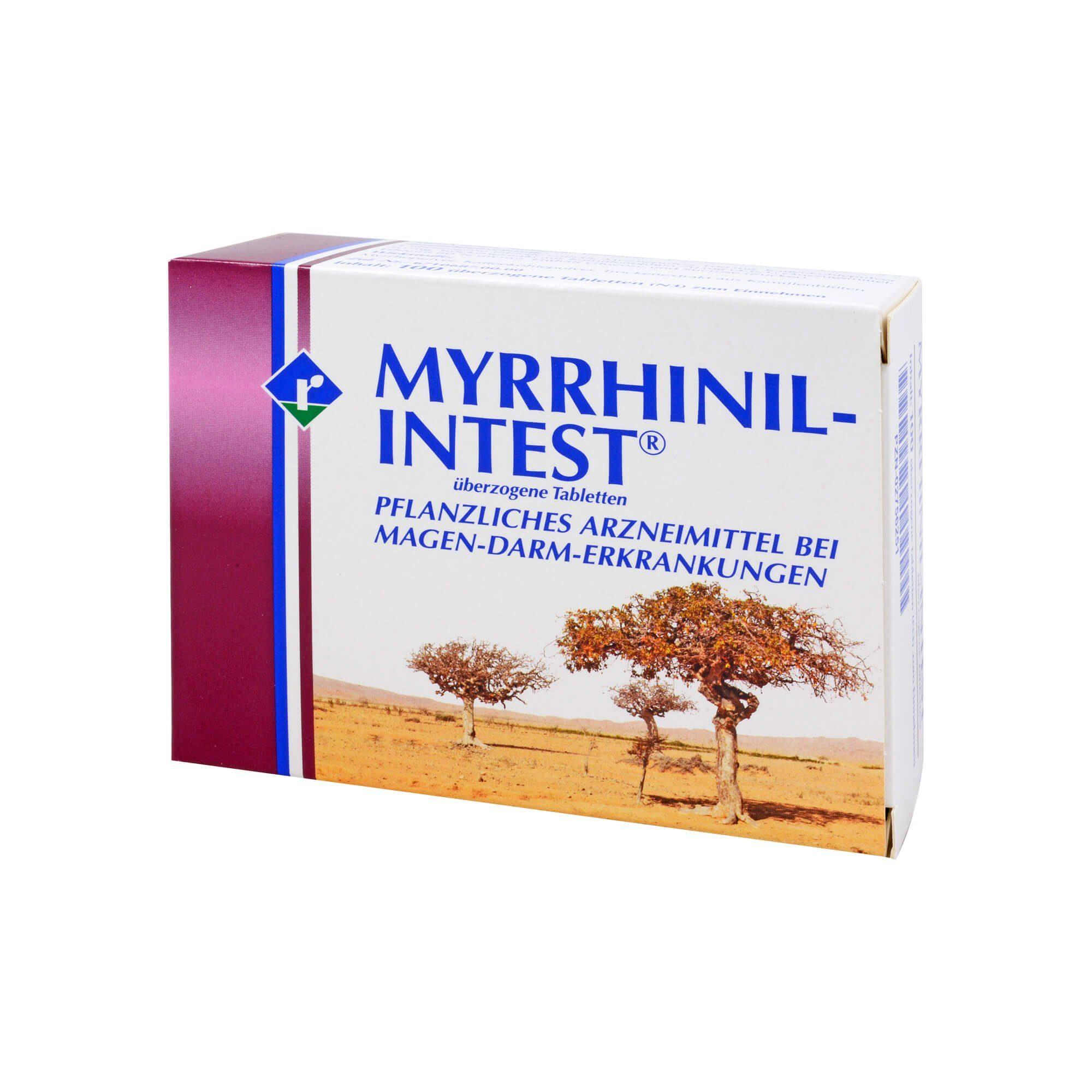 Myrrhinil Intest Überzogene Tabletten , 100 St