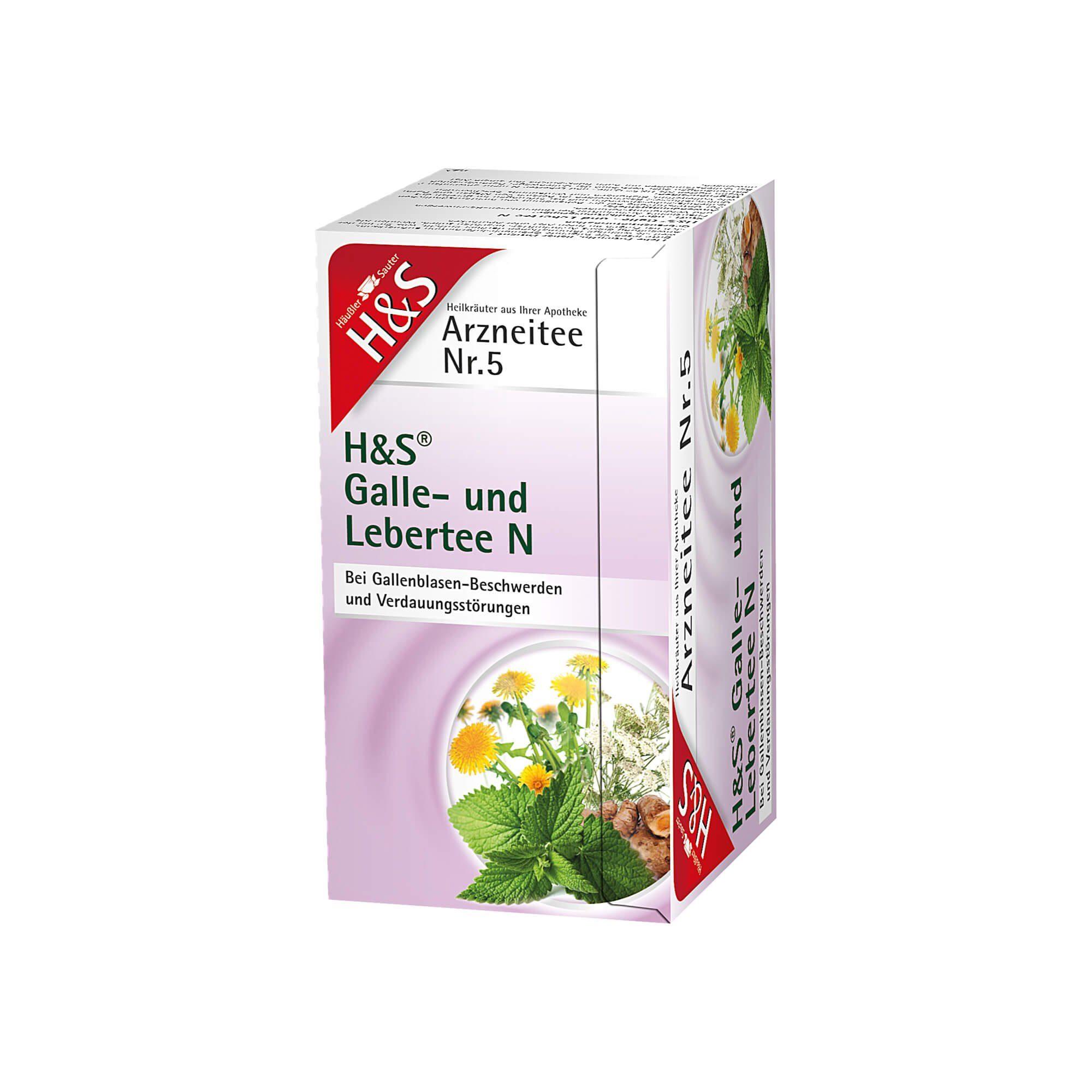 H&S Galle- Und Lebertee N Filterbeutel , 20 St