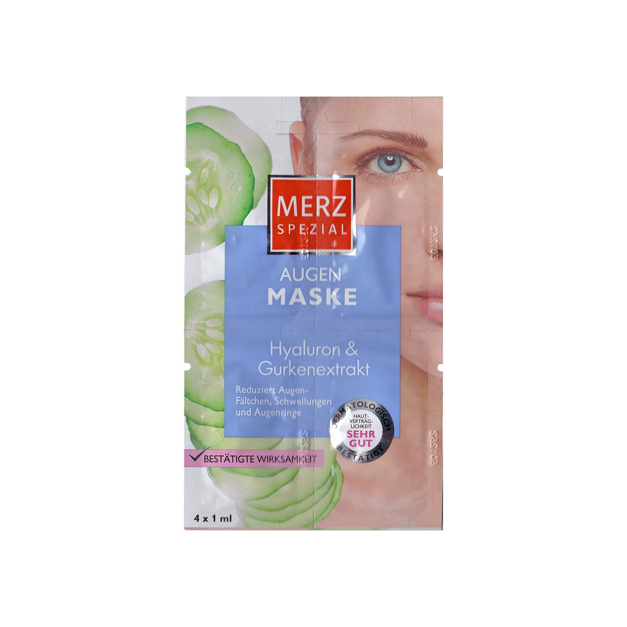 Merz Spezial Augen Maske , 4X1 ml