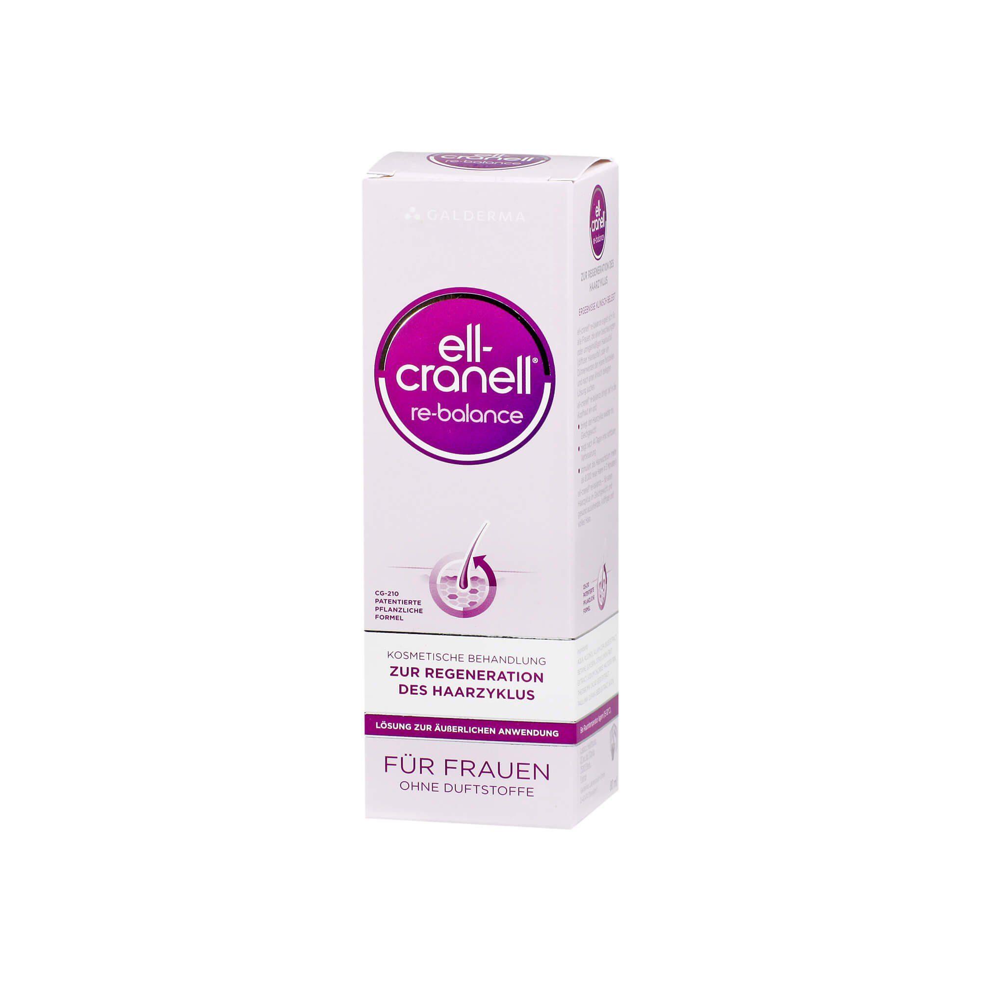 ELL-Cranell Re-Balance für Frauen Lösung , 80 ml