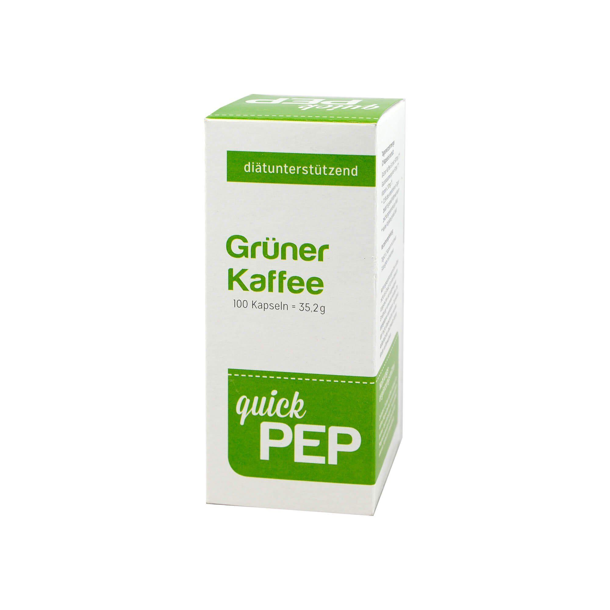QuickPep Grüner Kaffee , 100 St