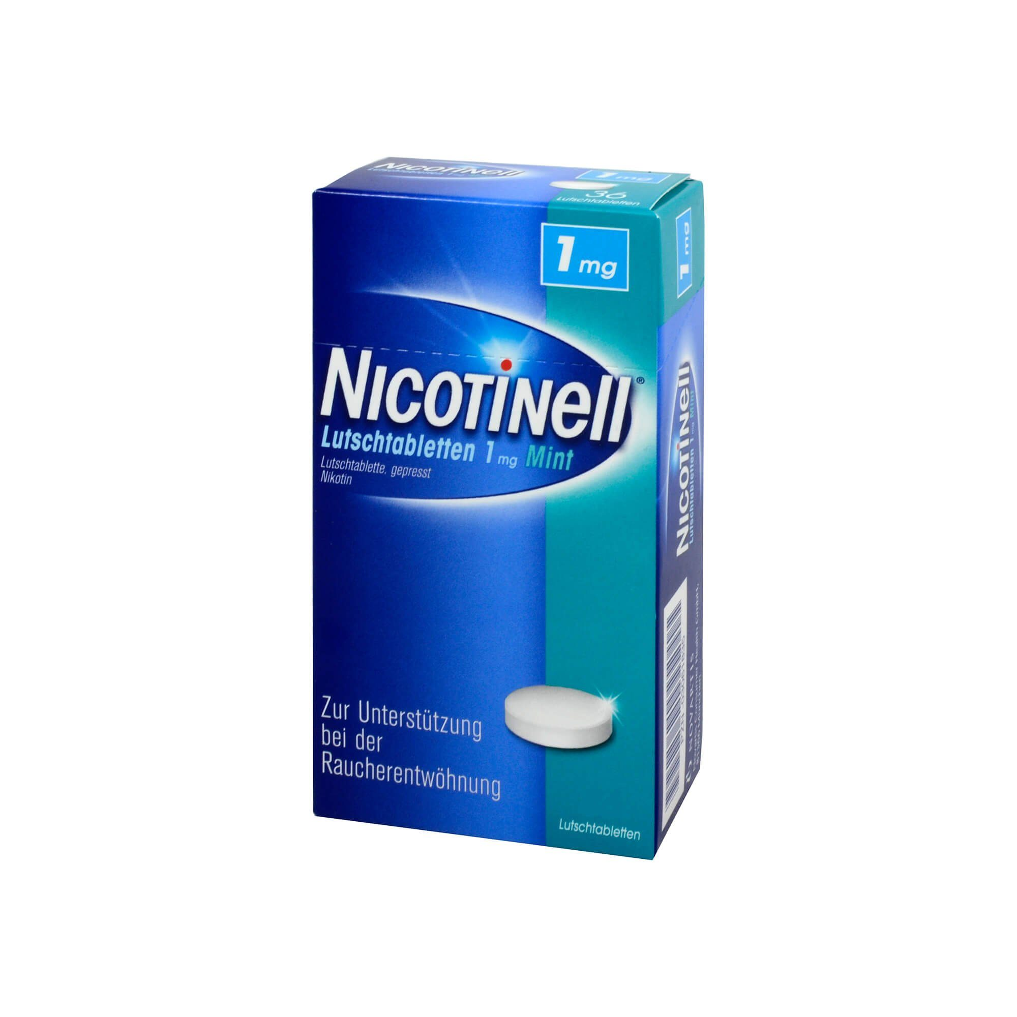 Nicotinell Lutschtabletten 1 mg Mint, 96 St