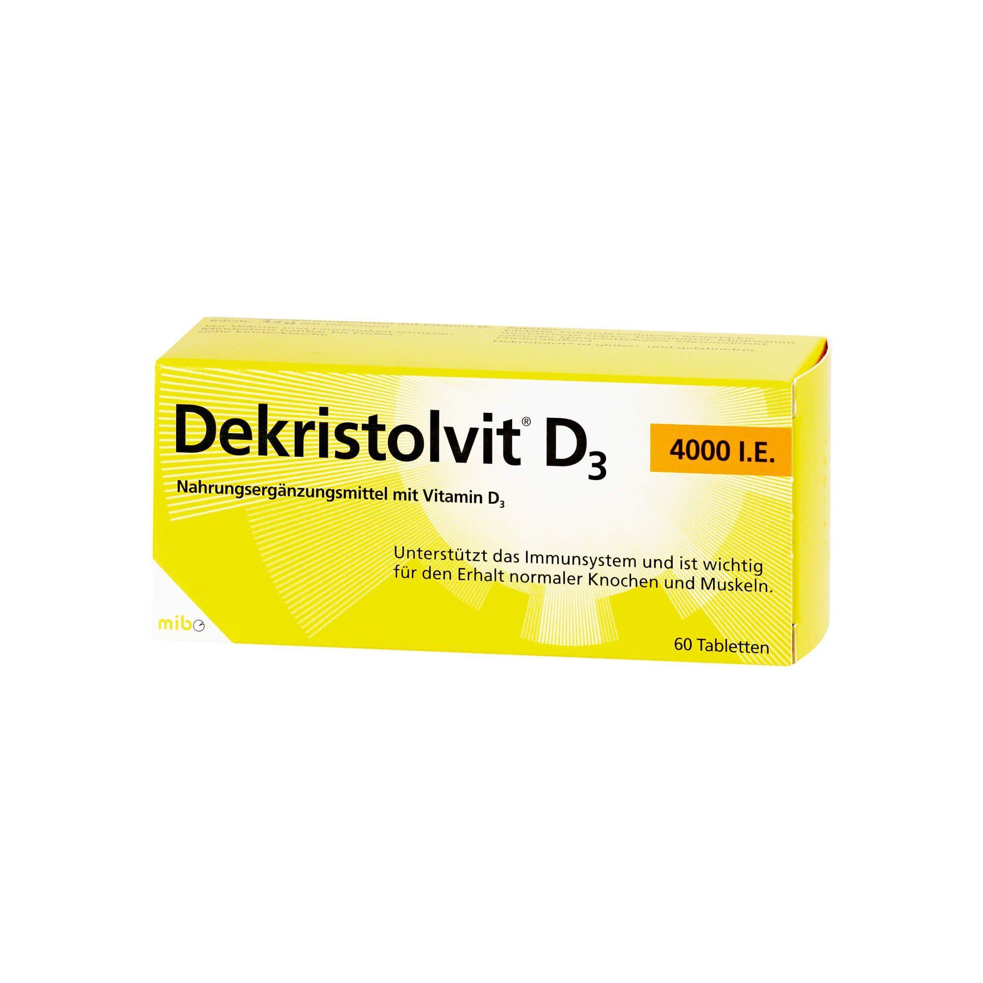 Dekristolvit D3 4000 I.E. , 60 St