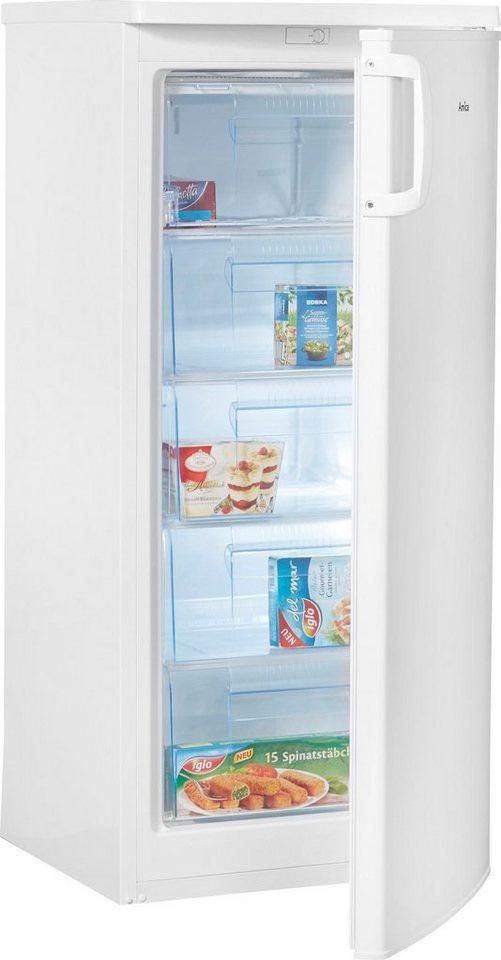 amica gefrierschrank gs 15406 w 125 2 cm hoch 54 5 cm breit energieeffizienzklasse a 125 2. Black Bedroom Furniture Sets. Home Design Ideas
