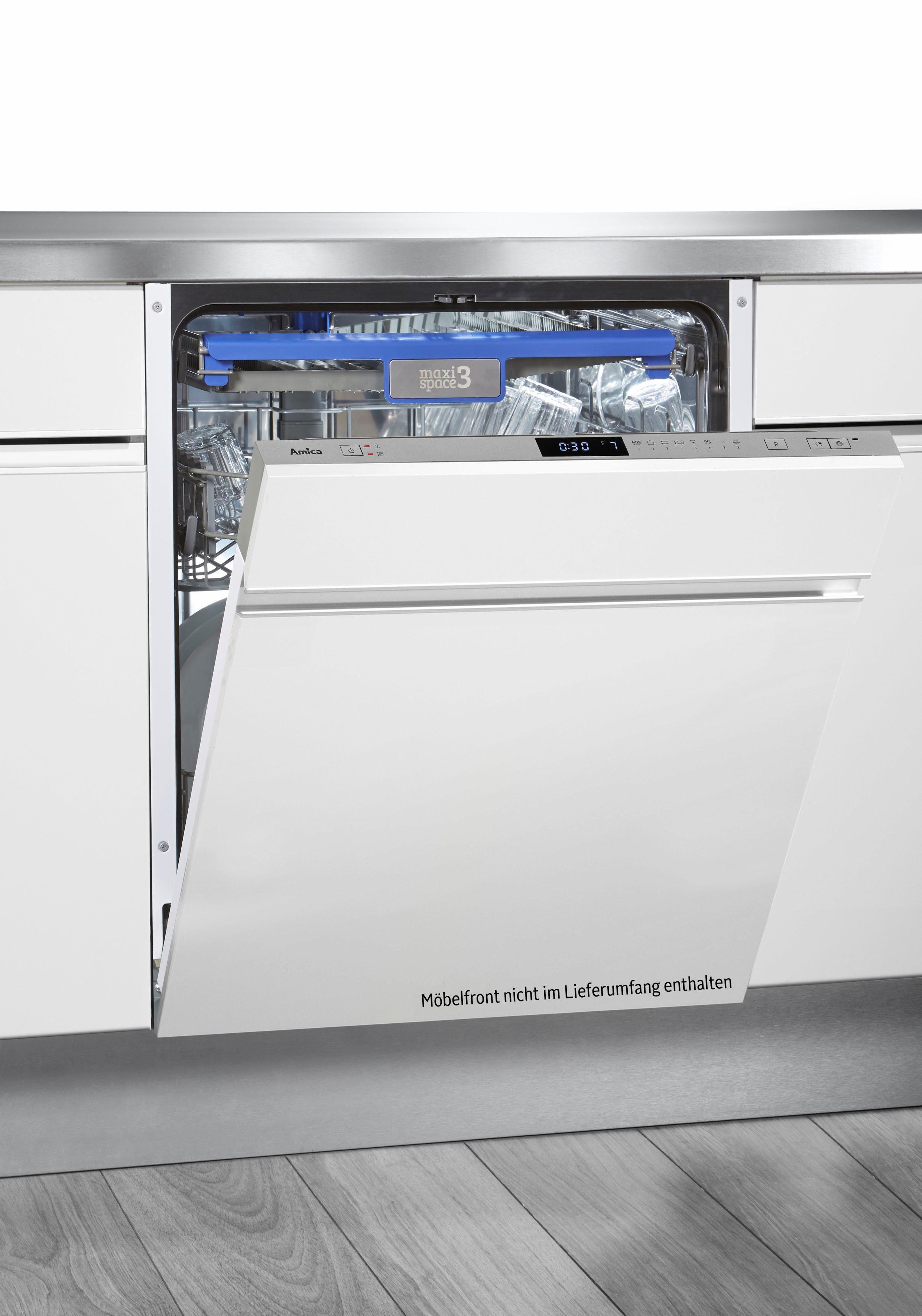 Amica Vollintegrierbarer Einbaugeschirrspüler EGSP 14686 V, A++, 10 Liter, 14 Maßgedecke