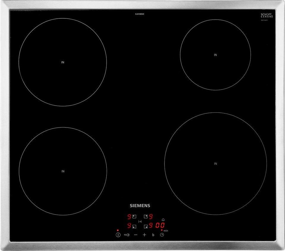 Siemens Induktions Kochfeld Eu645beb2e Mit Digitaldisplay Online