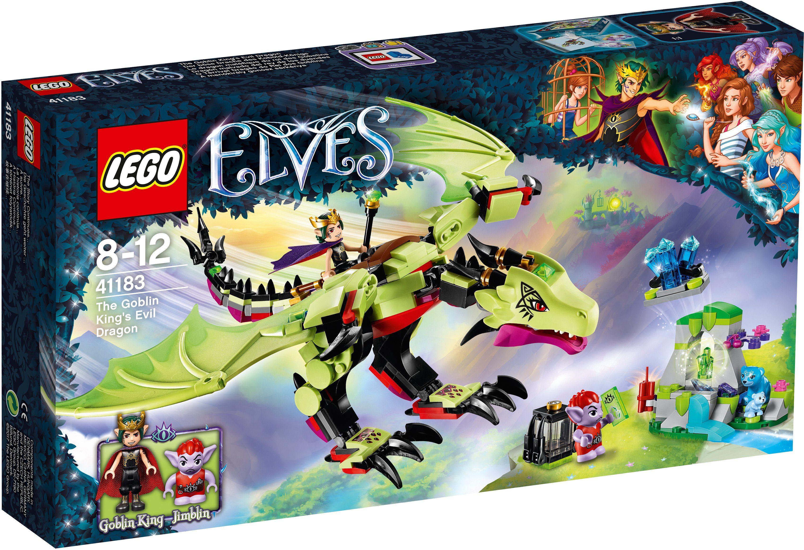 LEGO® Der böse Drache des Kobold Königs (41183), »LEGO® Elves«
