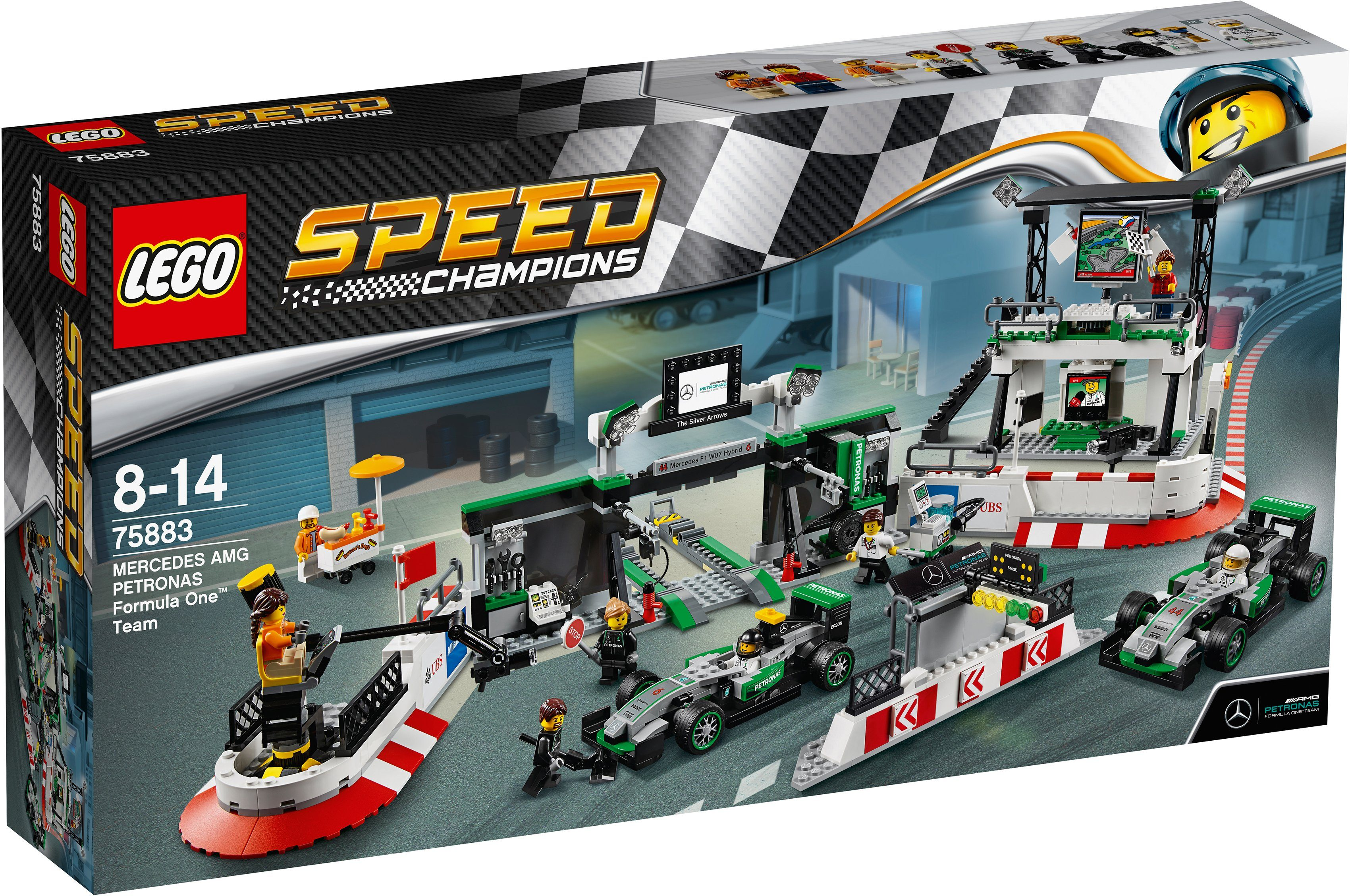 LEGO® MERCEDES AMG PETRONAS Formula One™ Team (75883), »LEGO® Speed Champions«
