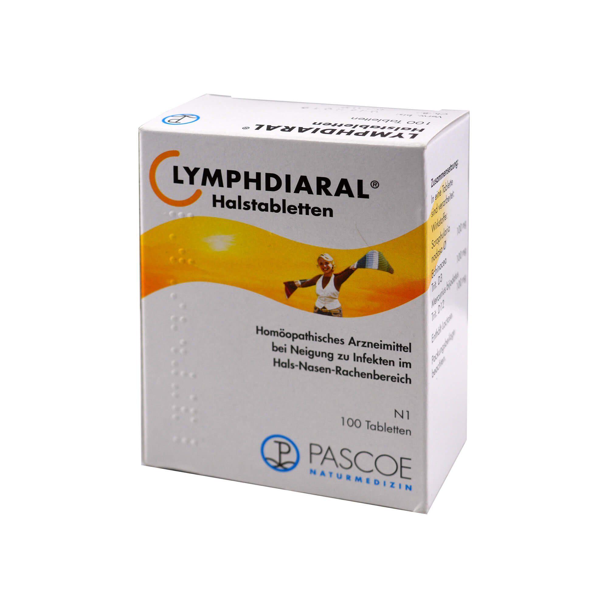 Lymphdiaral Halstabletten, 100 St