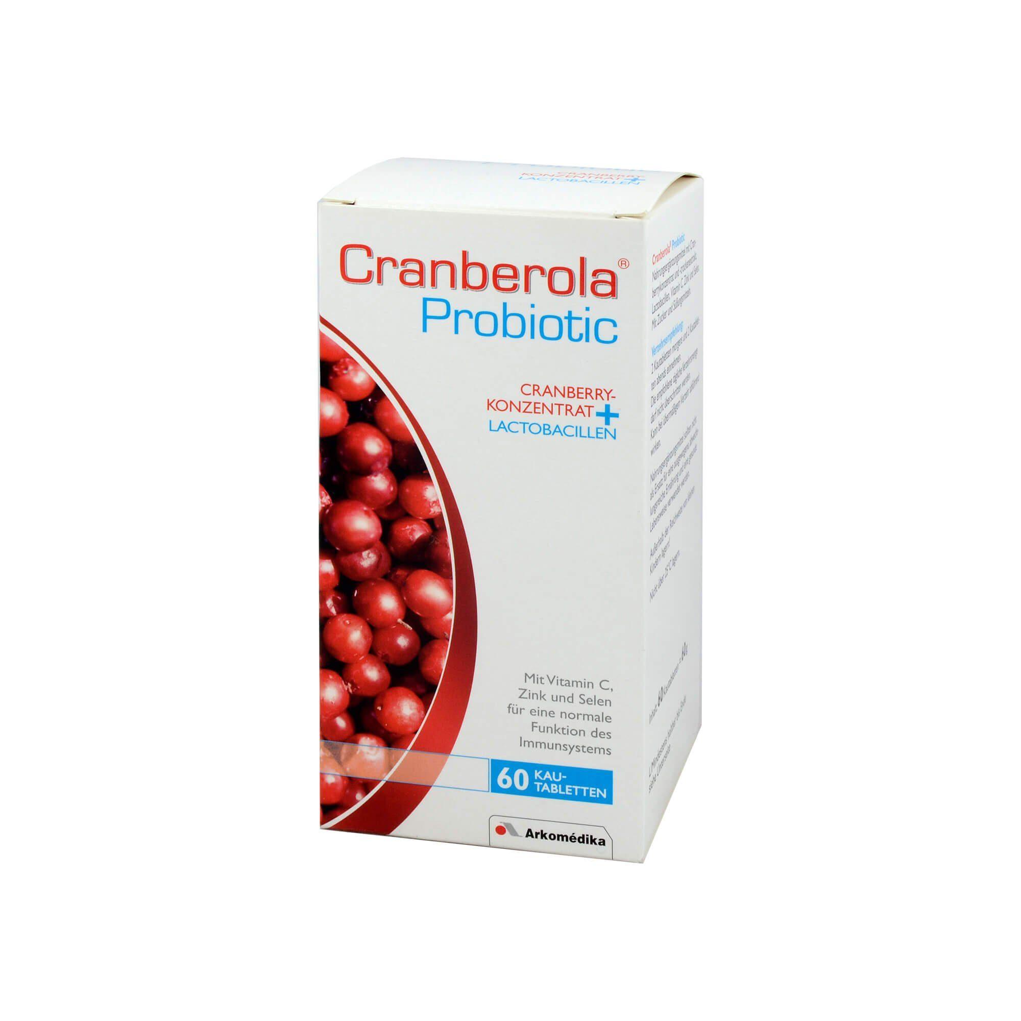 Cranberola Probiotic Kautabletten , 60 St