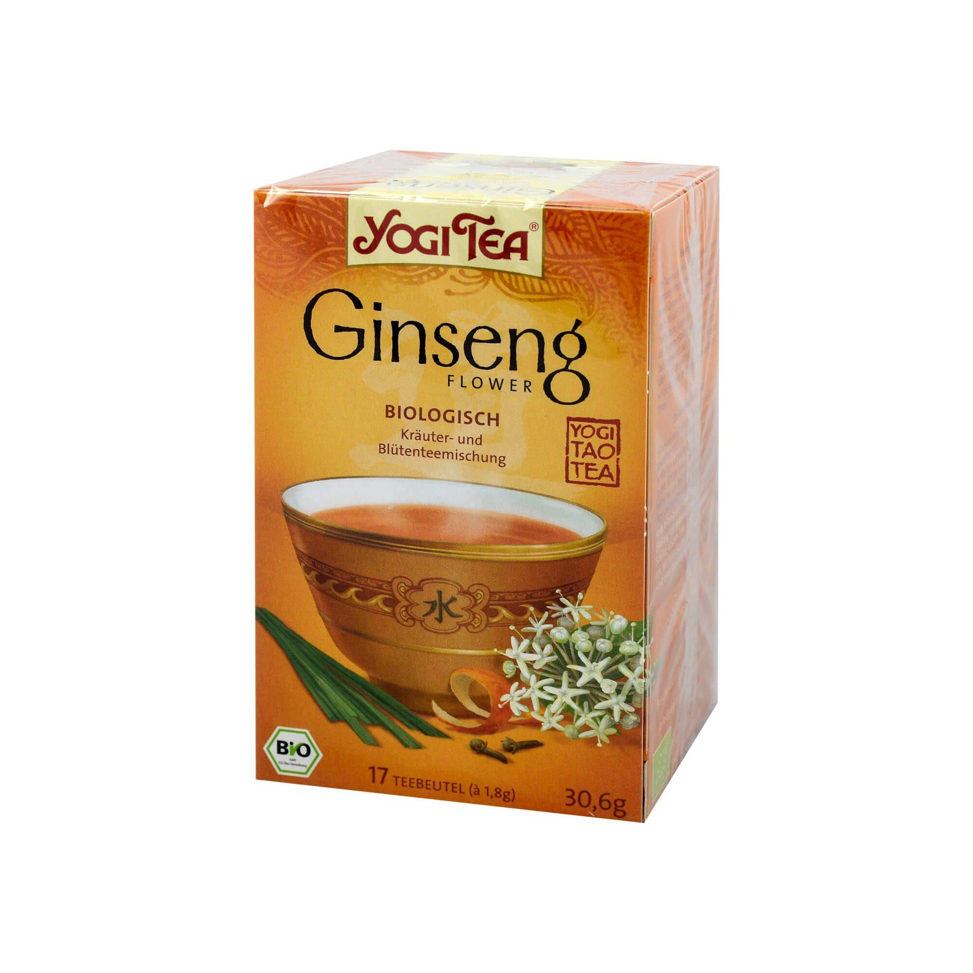 Yogi TEA Ginseng Bio, 17X1.8 g
