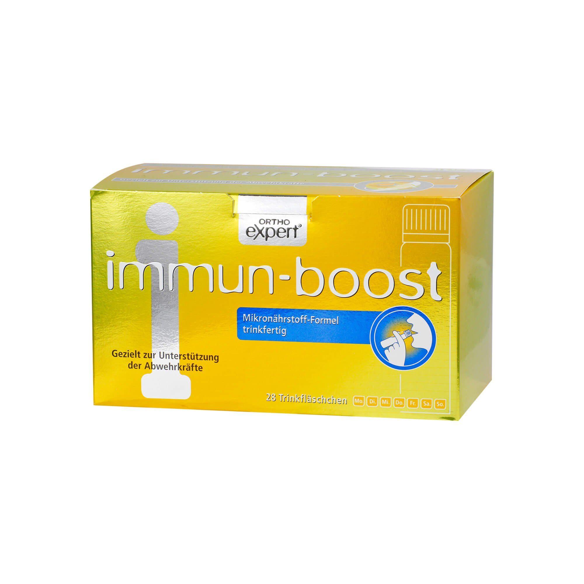 Immun-boost Orthoexpert Trinkampullen, 28X25 ml