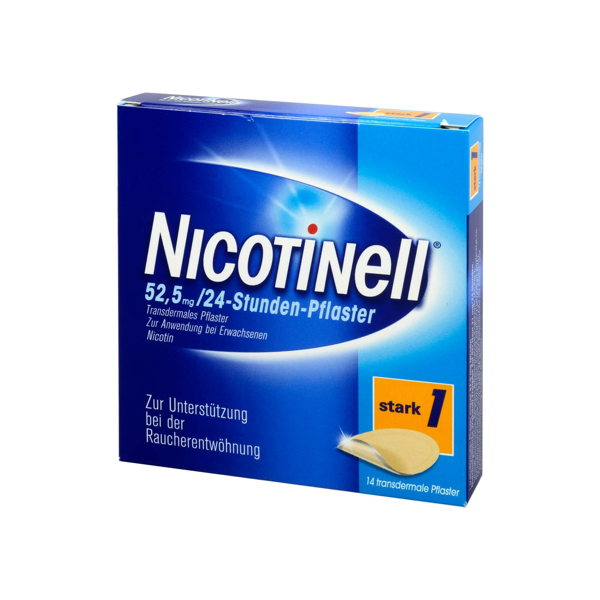 Nicotinell 52,5 mg 24 Stunden Pflaster , 14 St