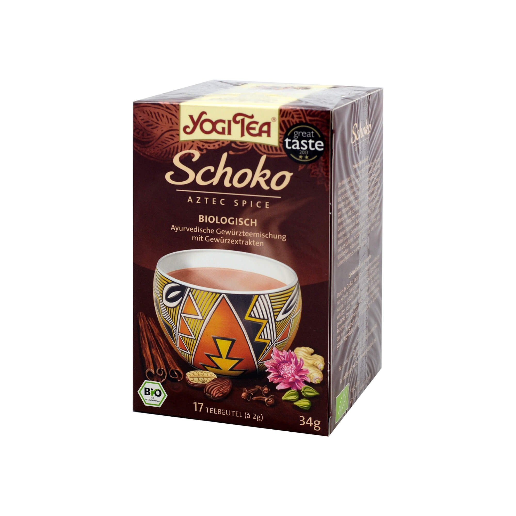 Yogi TEA Schoko Bio , 17X2 g