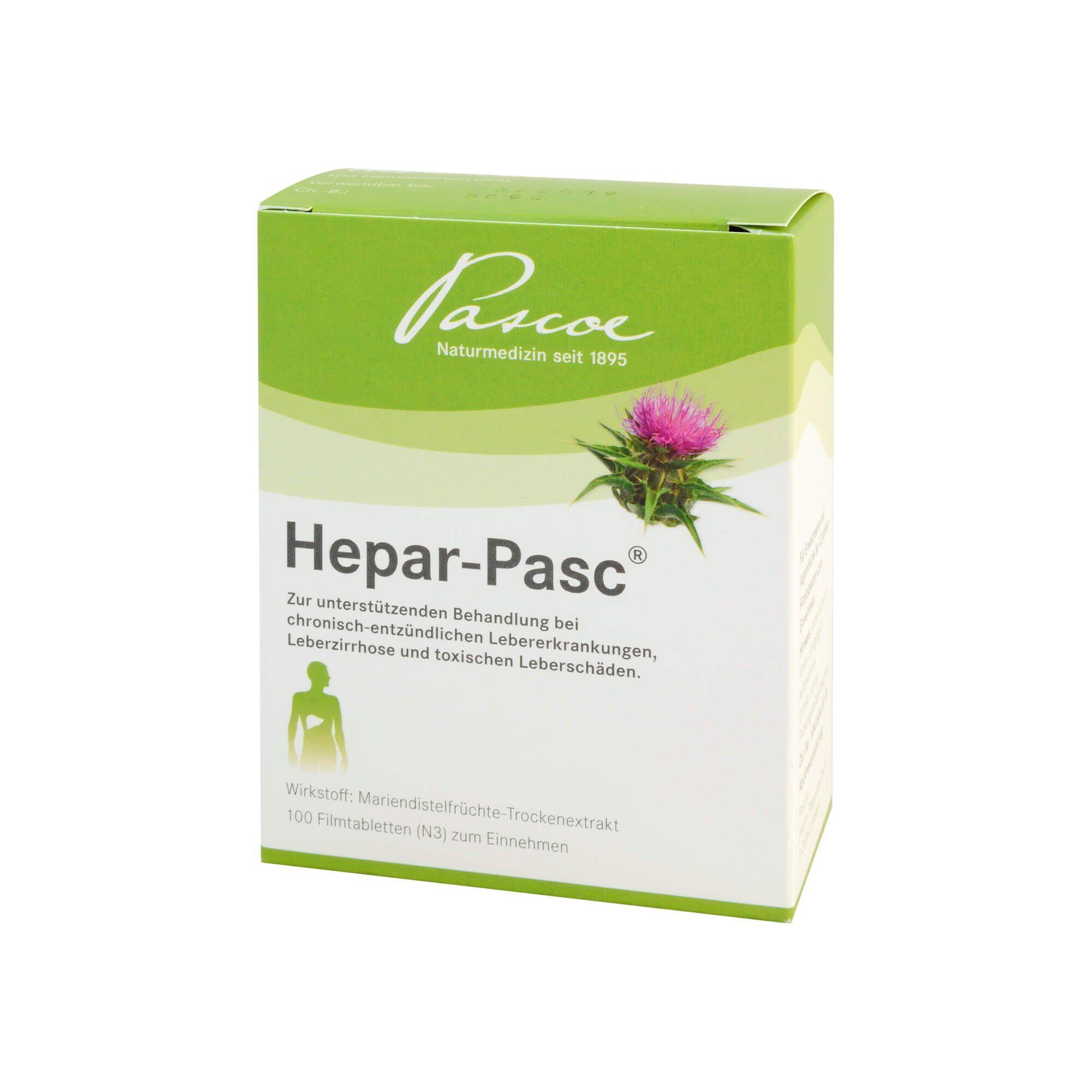 Hepar Pasc Filmtabletten, 100 St
