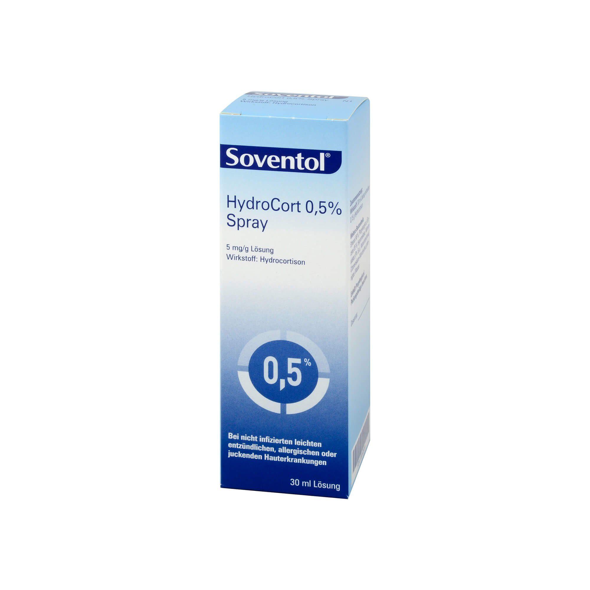 Soventol HydroCort 0,5 % Spray, 30 ml