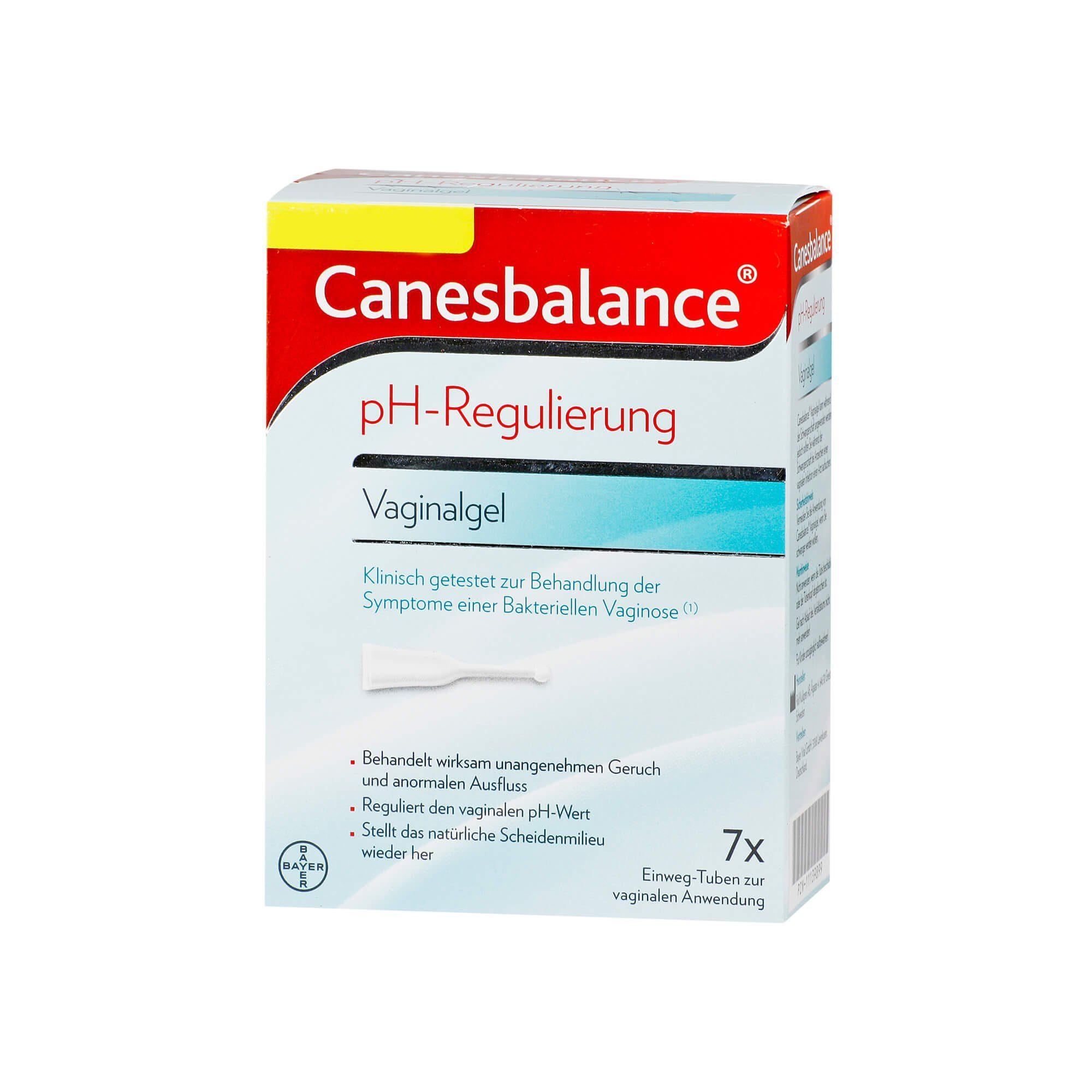 Canesbalance pH-Regulierung Vaginalgel , 7X5 ml