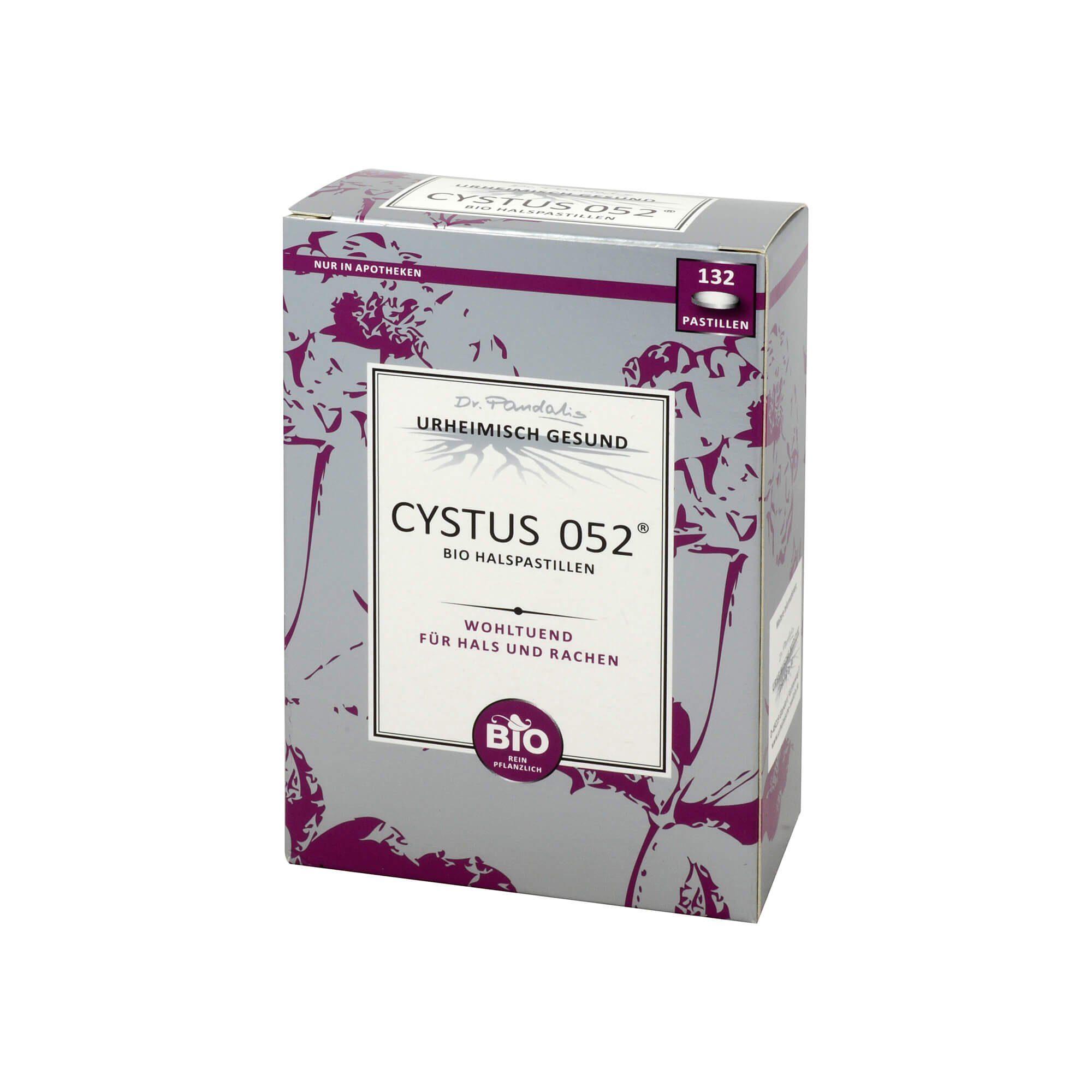Cystus 052 Bio Halspastillen , 132 St