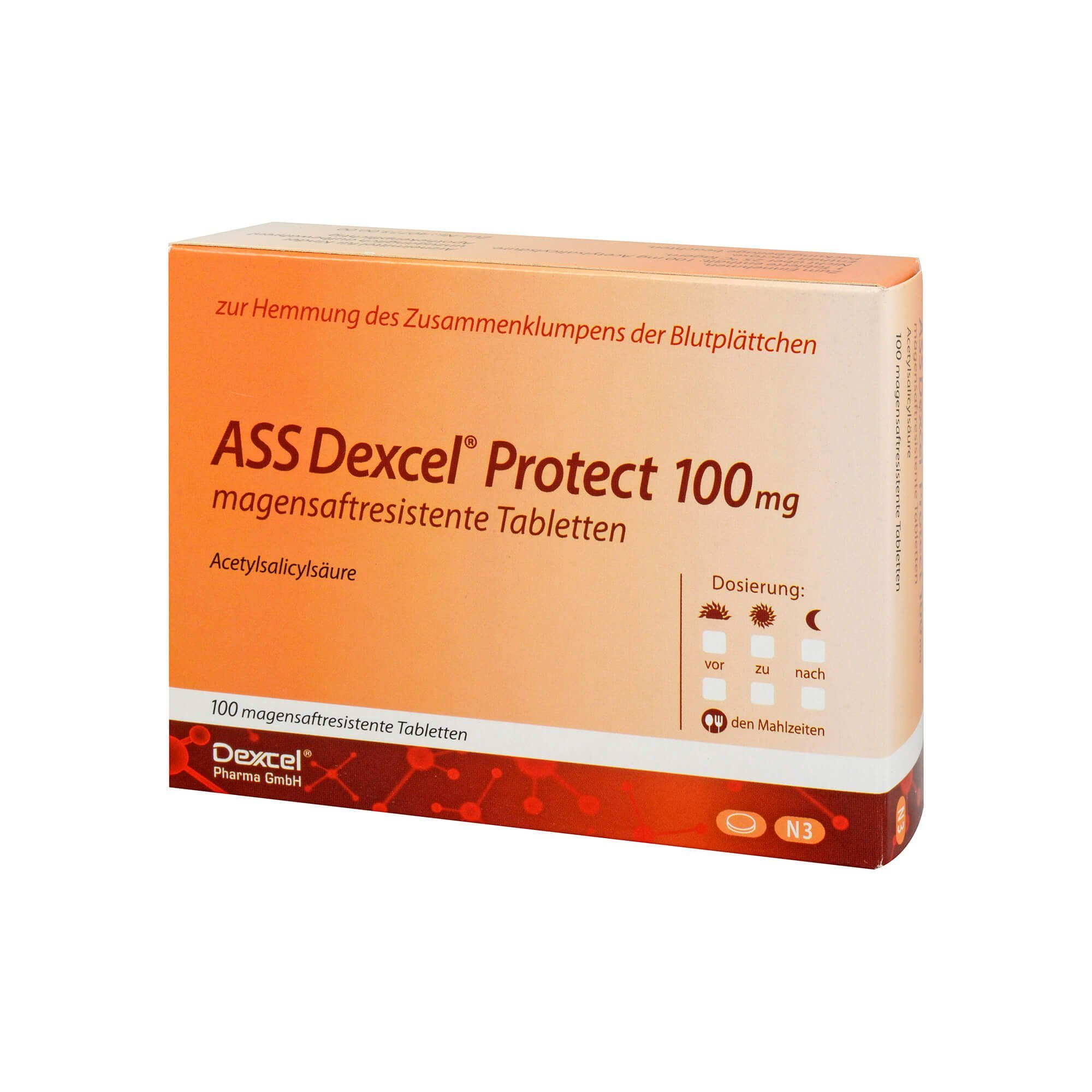 ASS DEXCEL Protect 100mg, 100 St
