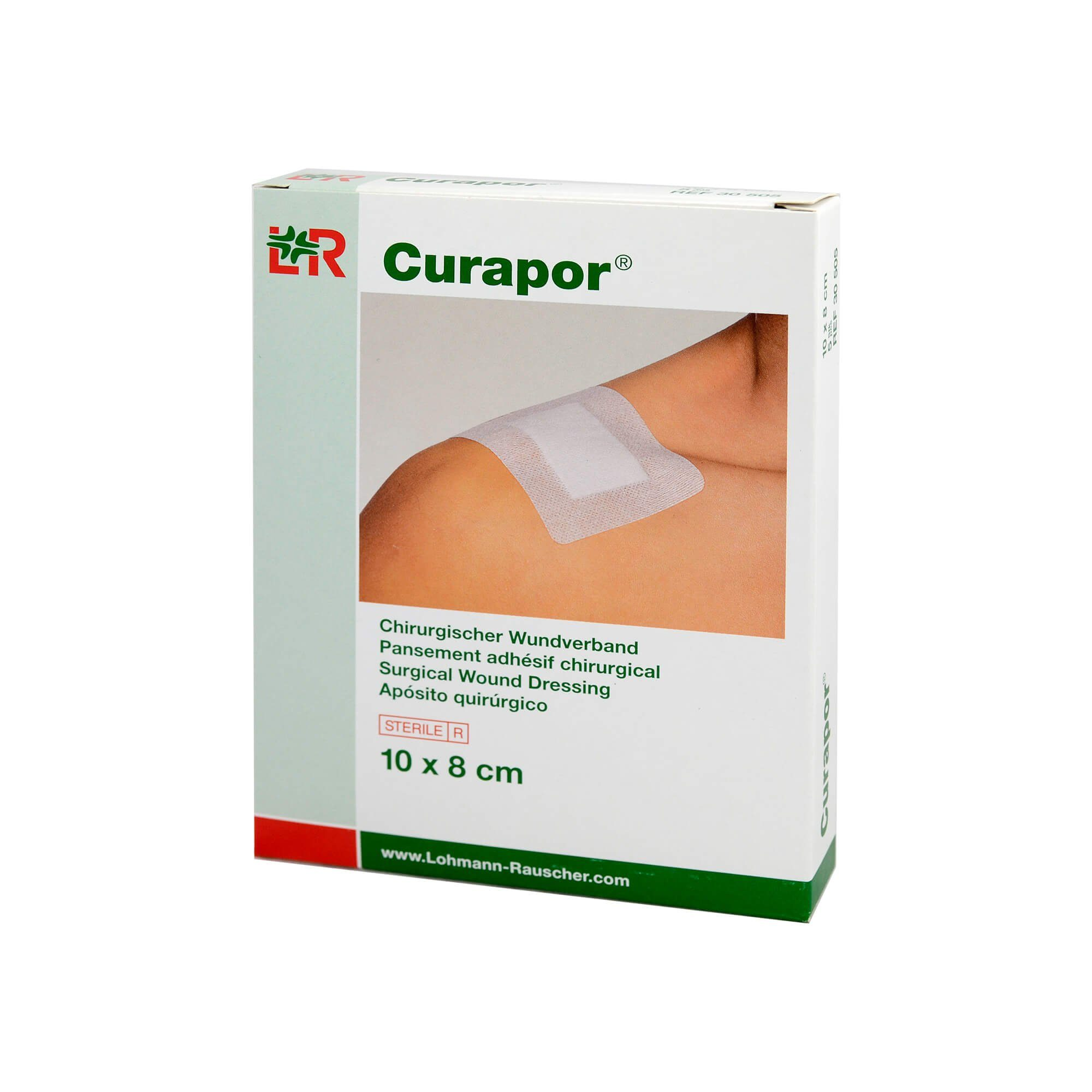Curapor Wundverband Steril Chirurgisch 8x10 cm , 5 St