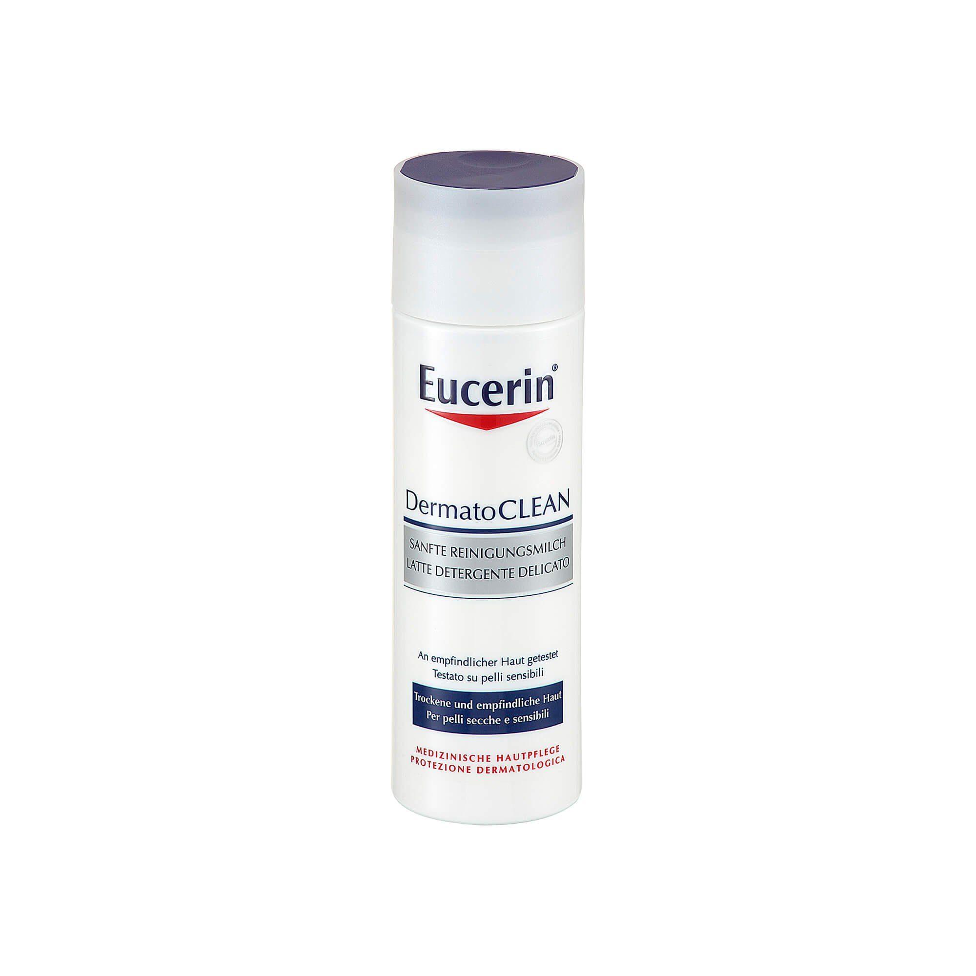 Eucerin Dermatoclean sanfte Reinigungsmilch , 200 ml