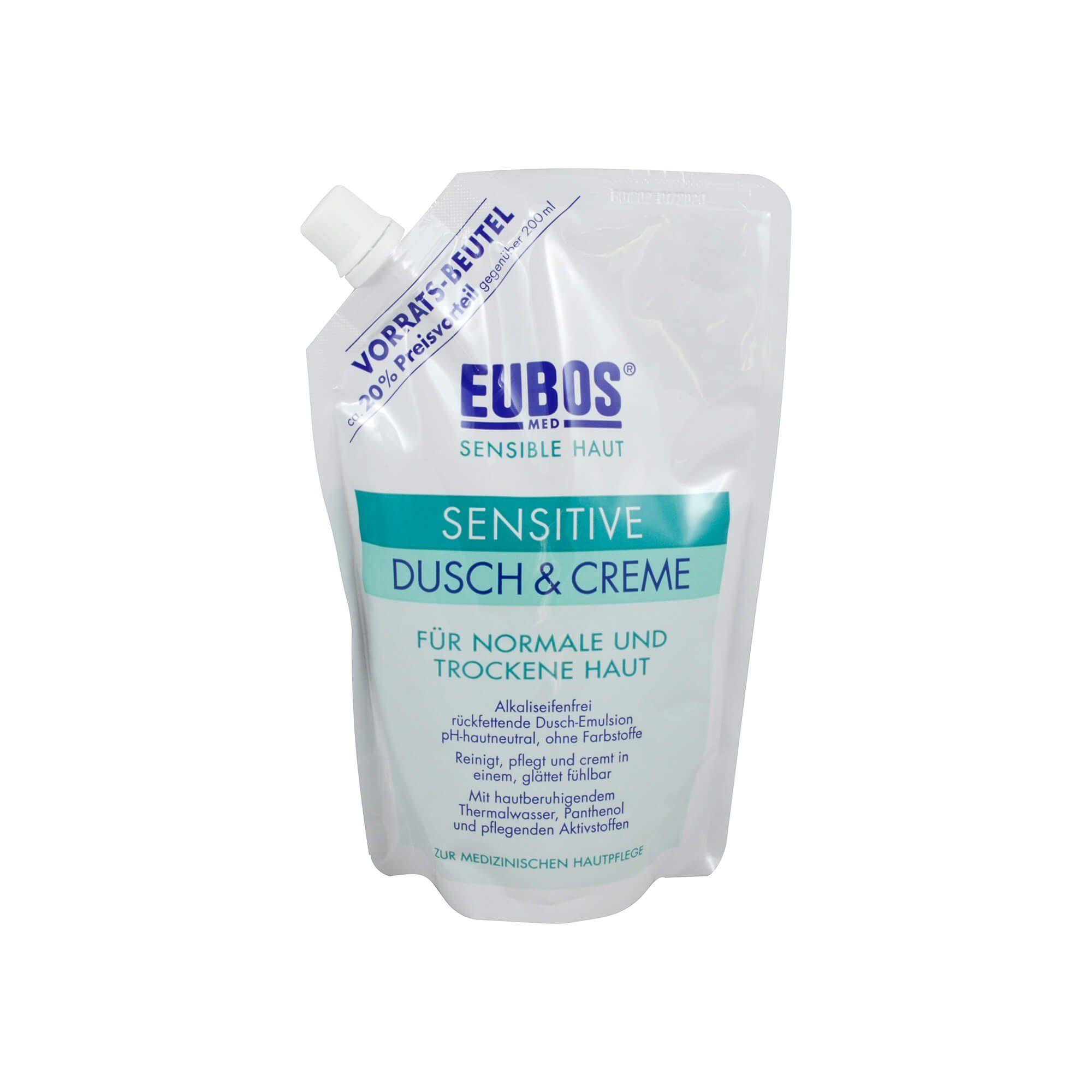 Eubos Eubos Sensitive Dusch & Creme Nachfüllbeutel , 400 ml