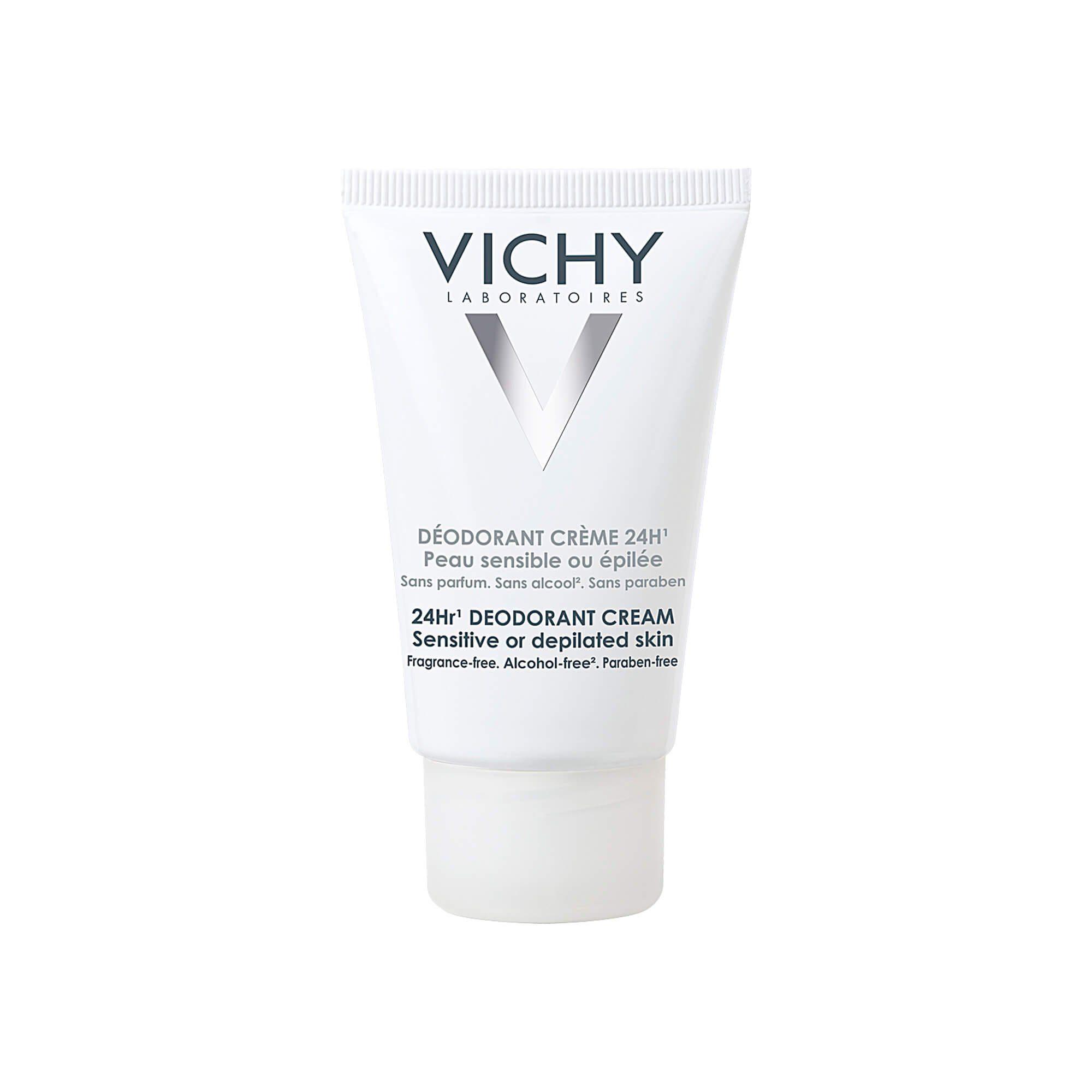 Vichy Deo Creme für sehr empfindliche/epilierte Haut , 40 ml
