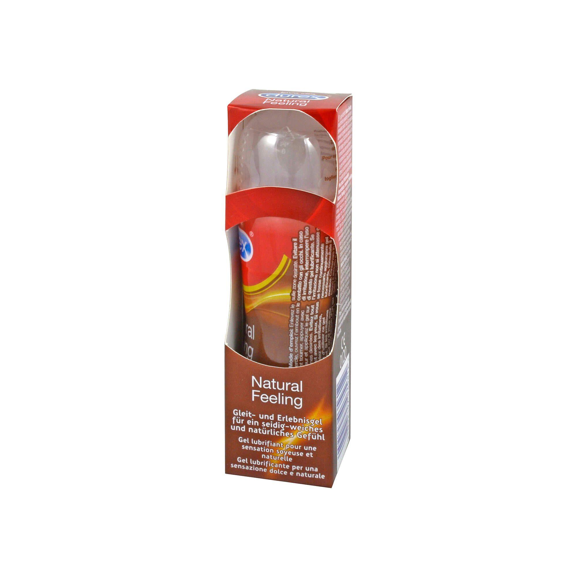 Durex Natural Feeling Gleit- und Erlebnisgel , 50 ml