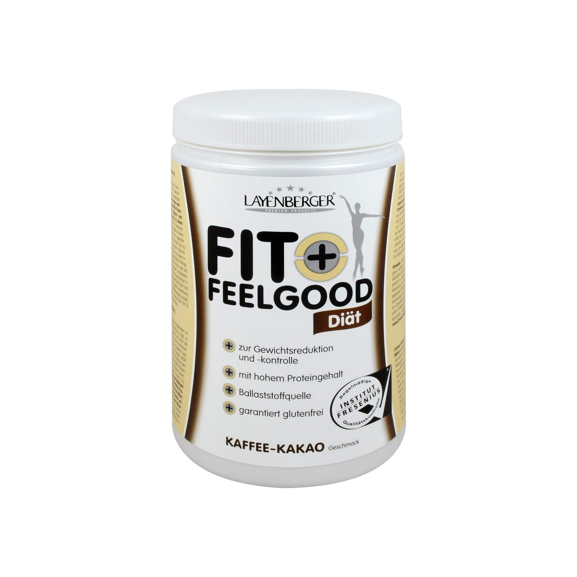 Layenberger Fit+Feelgood Schlank-Diät Schoko-Kaffee , 430 g