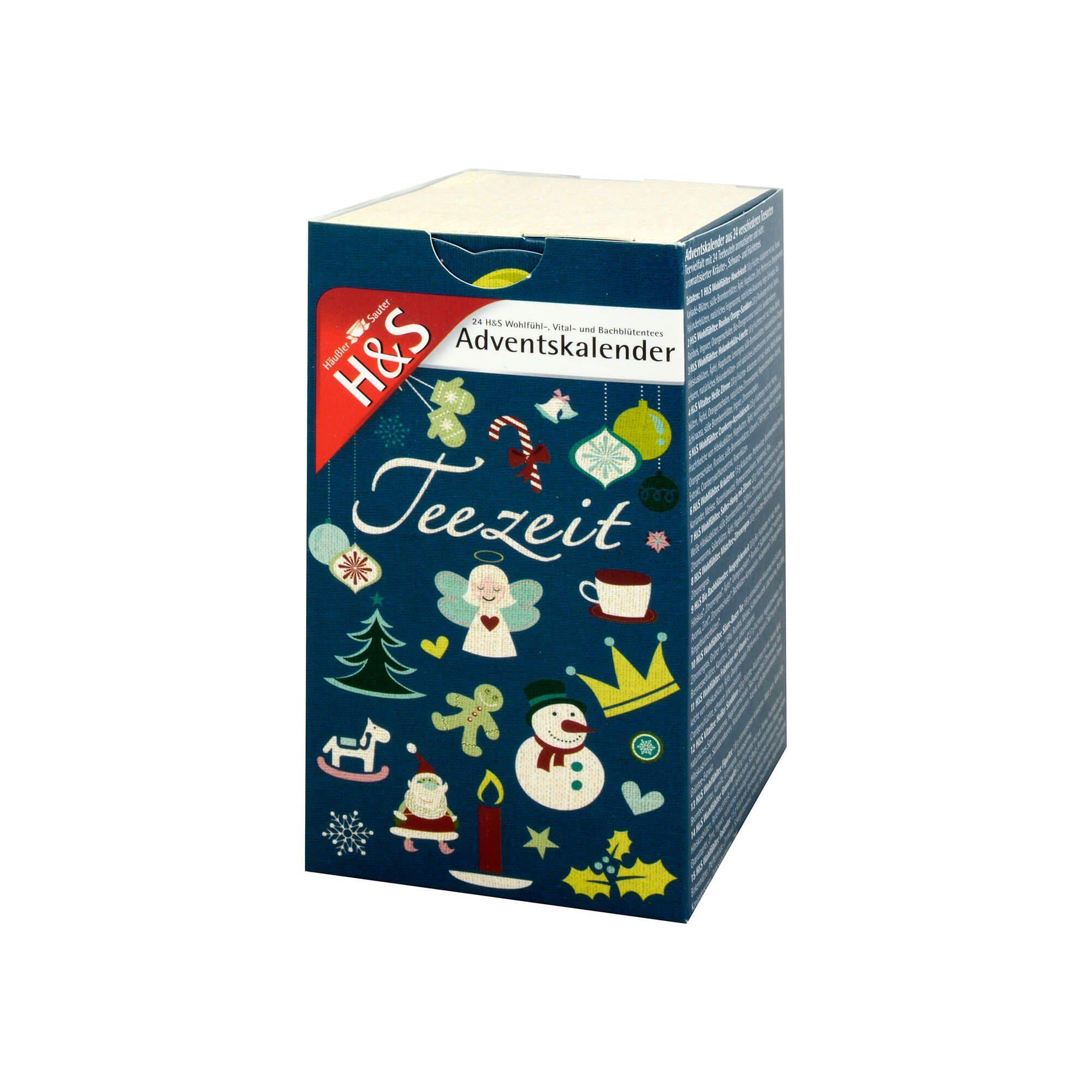 H&S Teezeit Weihnachtstees , 24 St