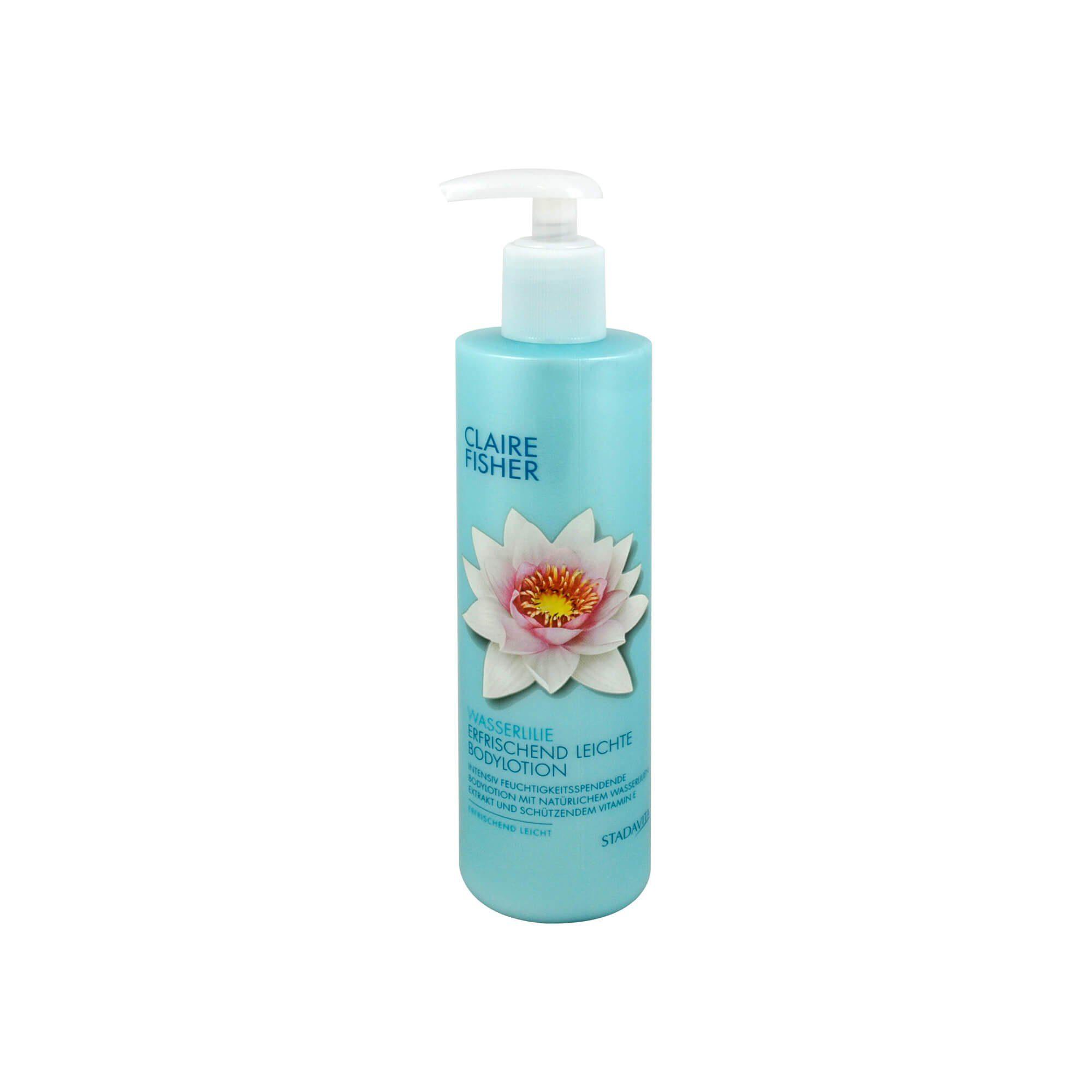 Claire Fisher Natur Classic Wasserlilien Bodylotion , 300 ml