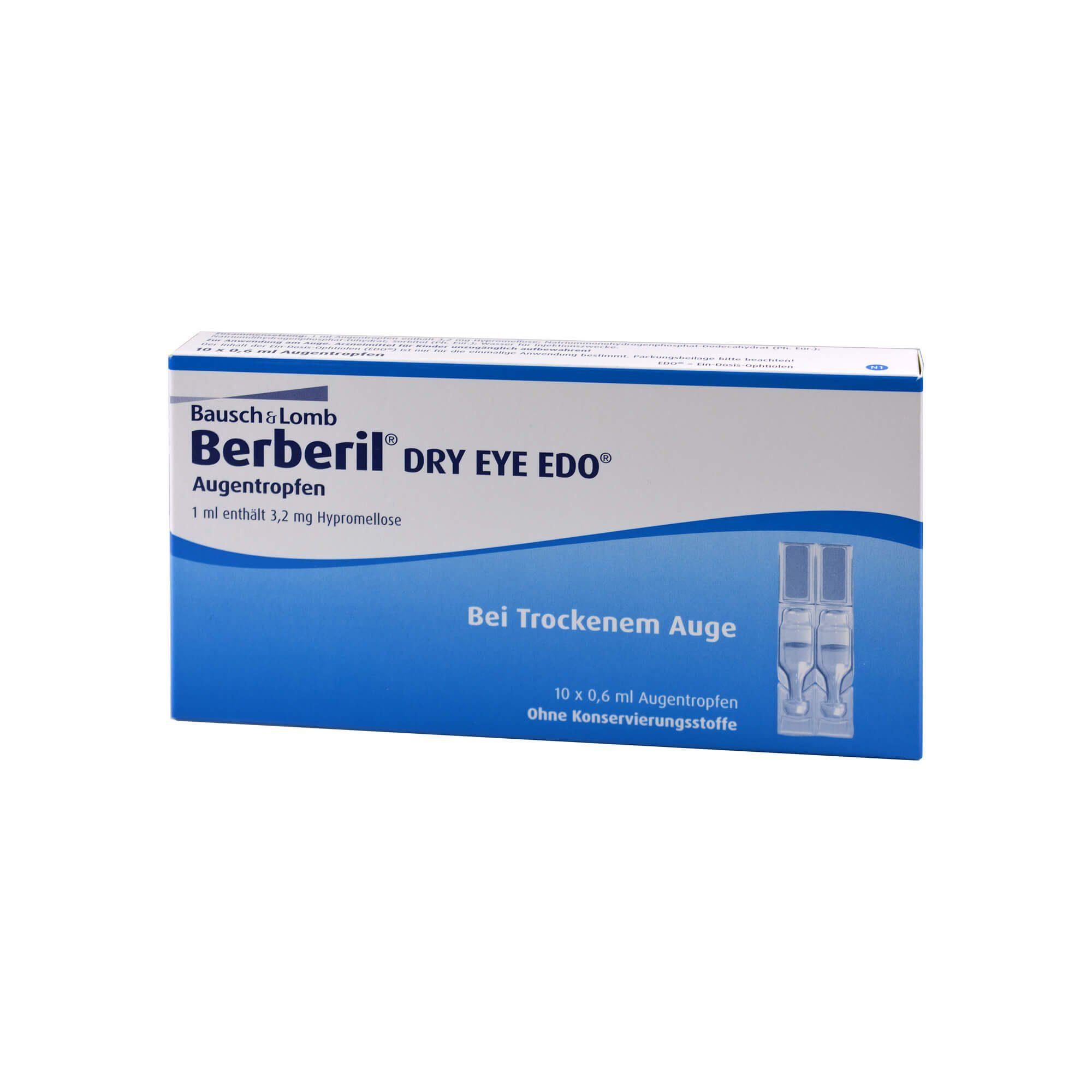 Berberil Dry Eye EDO, 10X0.6 ml