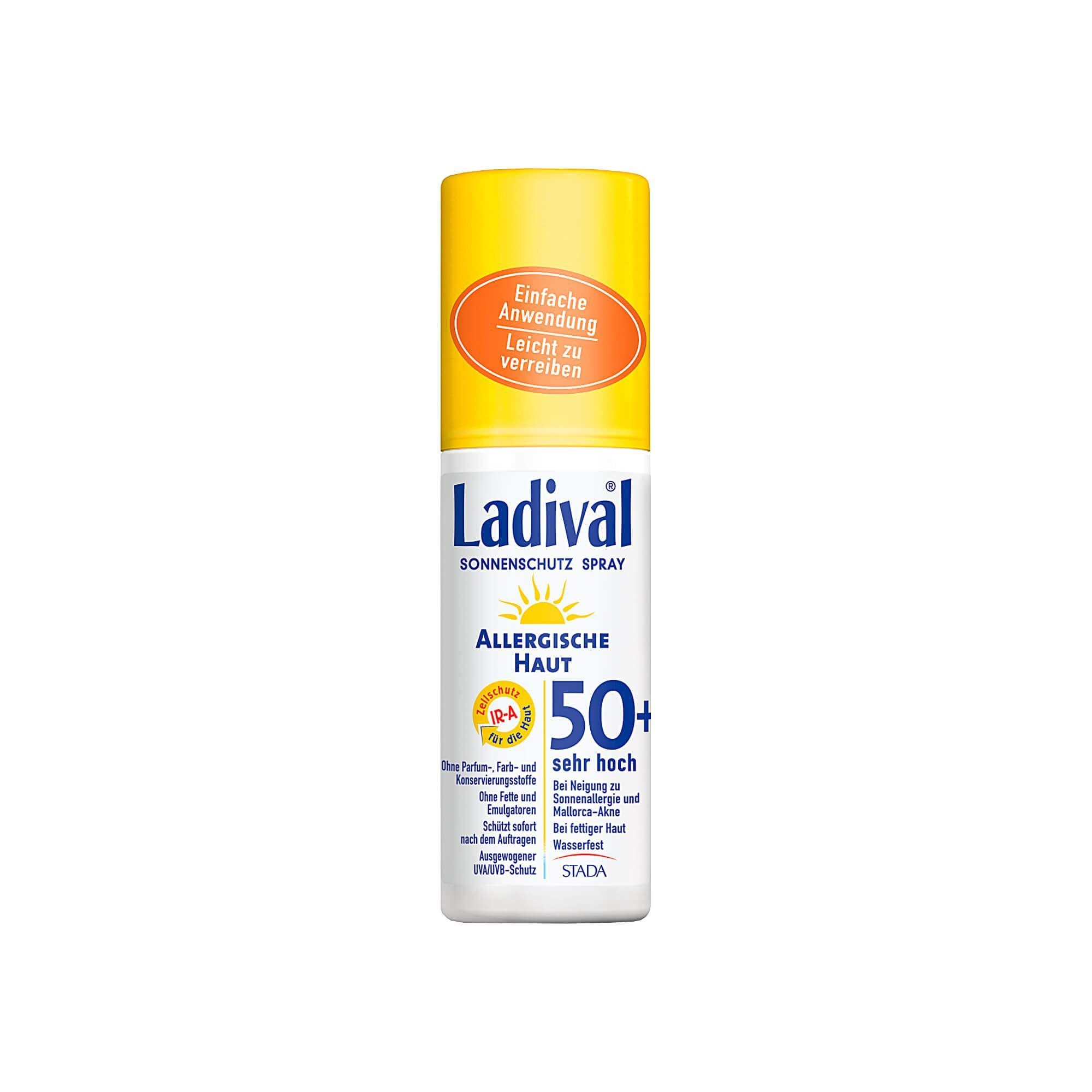 Ladival Allergische Haut Spray LSF 50+ , 150 ml