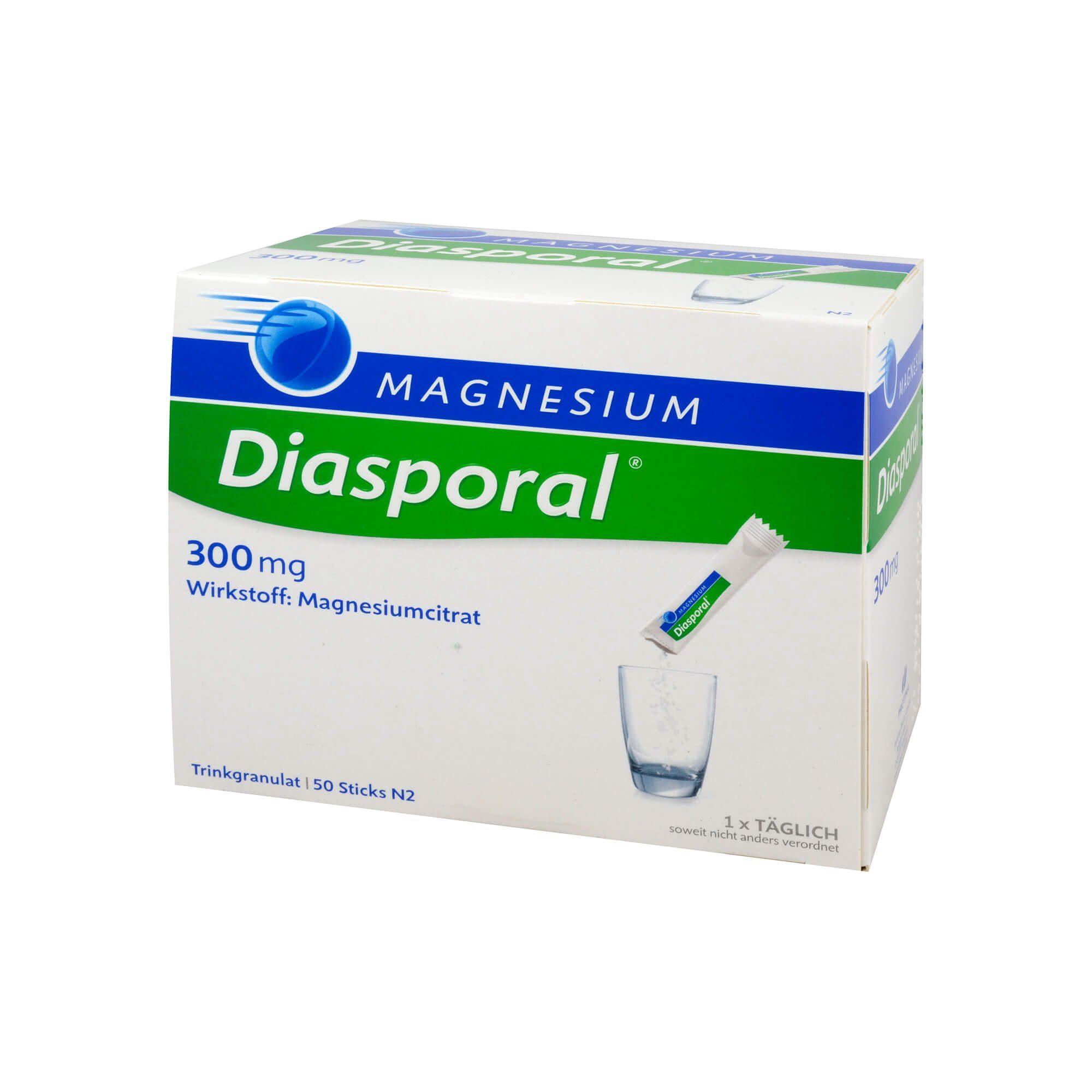 Diasporal Magnesium-Diasporal 300 mg , 50 St