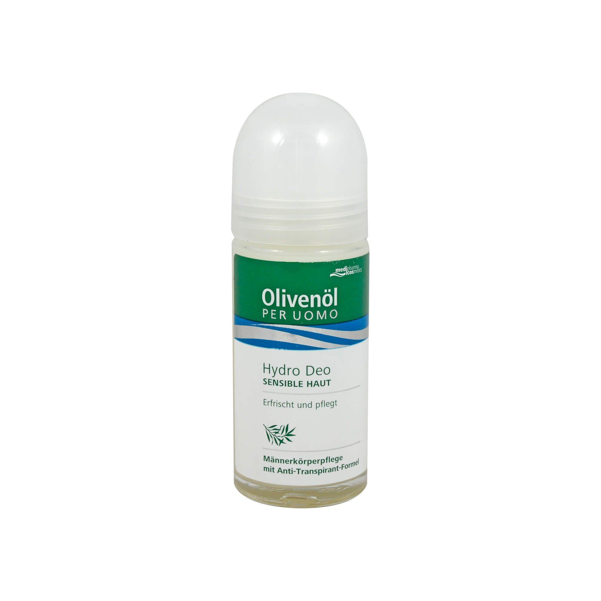 Olivenöl Per Uomo Hydro Deo , 50 ml