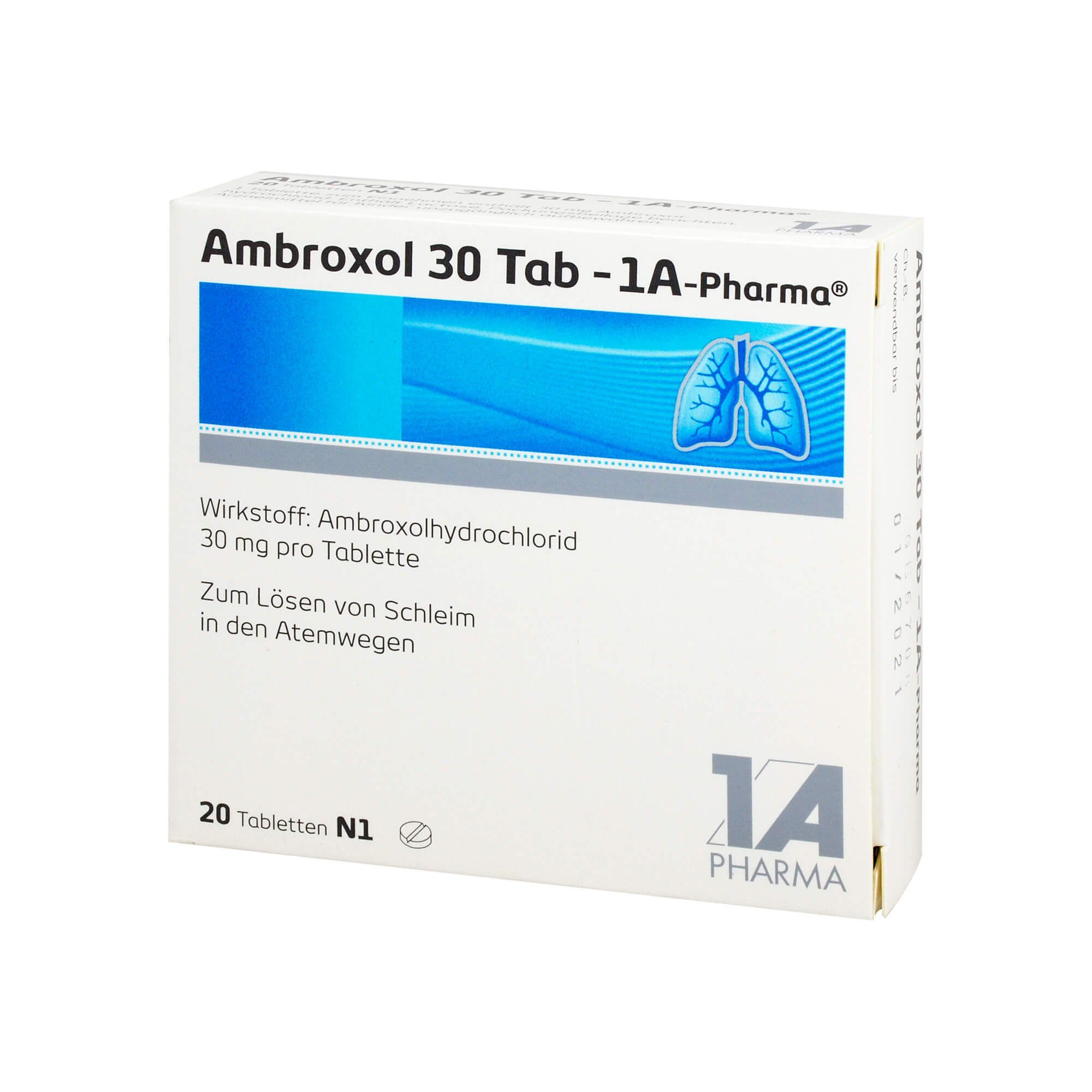 Ambroxol 30 Tabletten 1A Pharma , 20 St