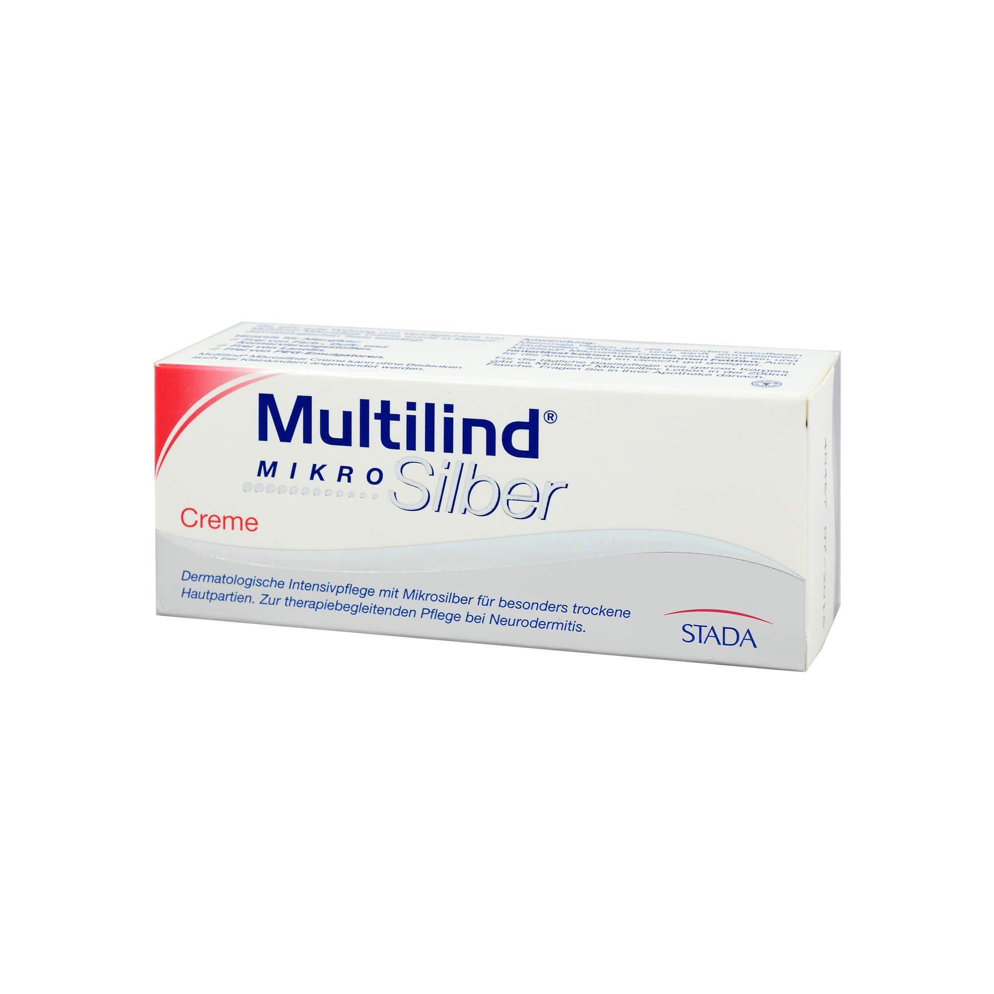 Multilind Mikrosilber Creme, 75 ml