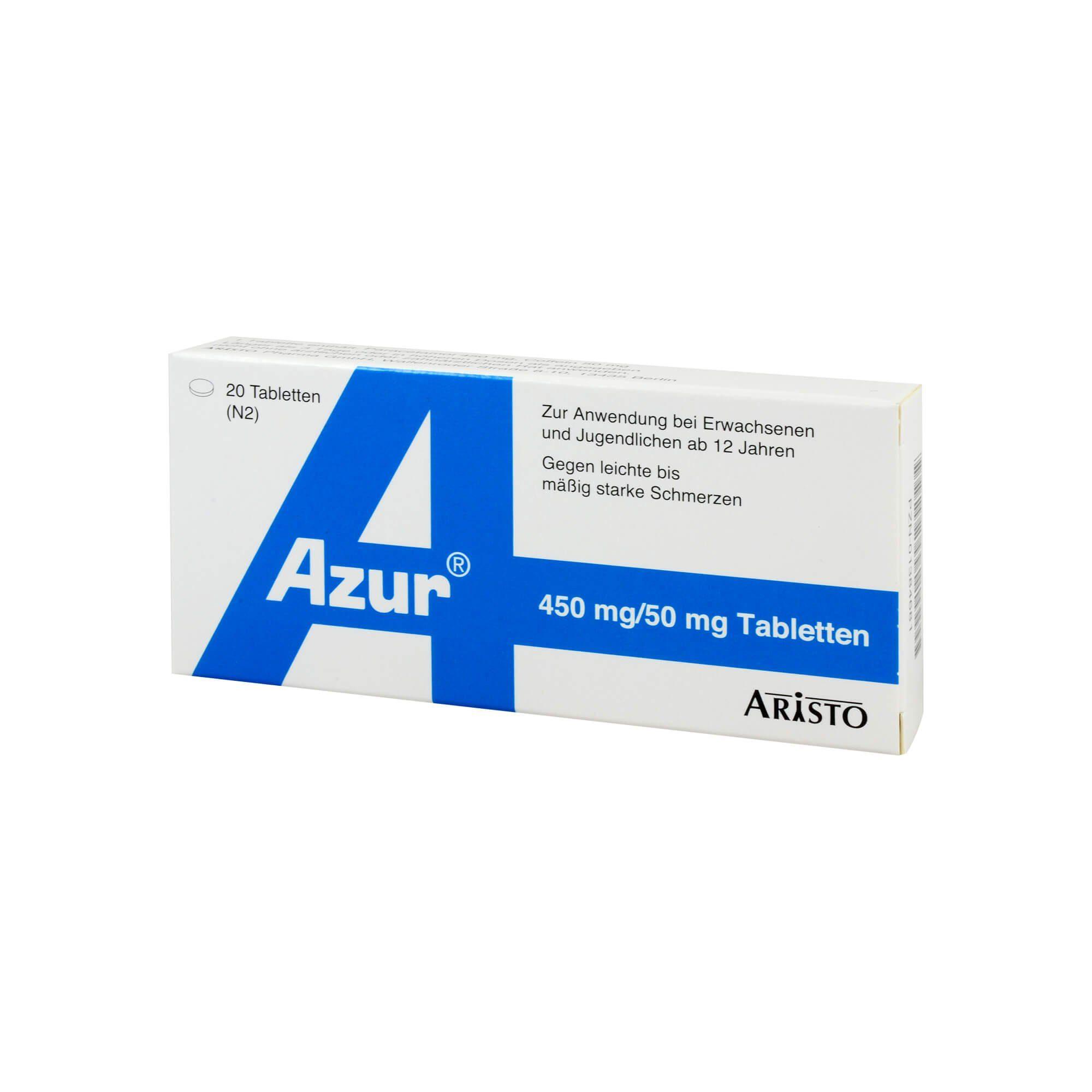 Azur Tabletten , 20 St